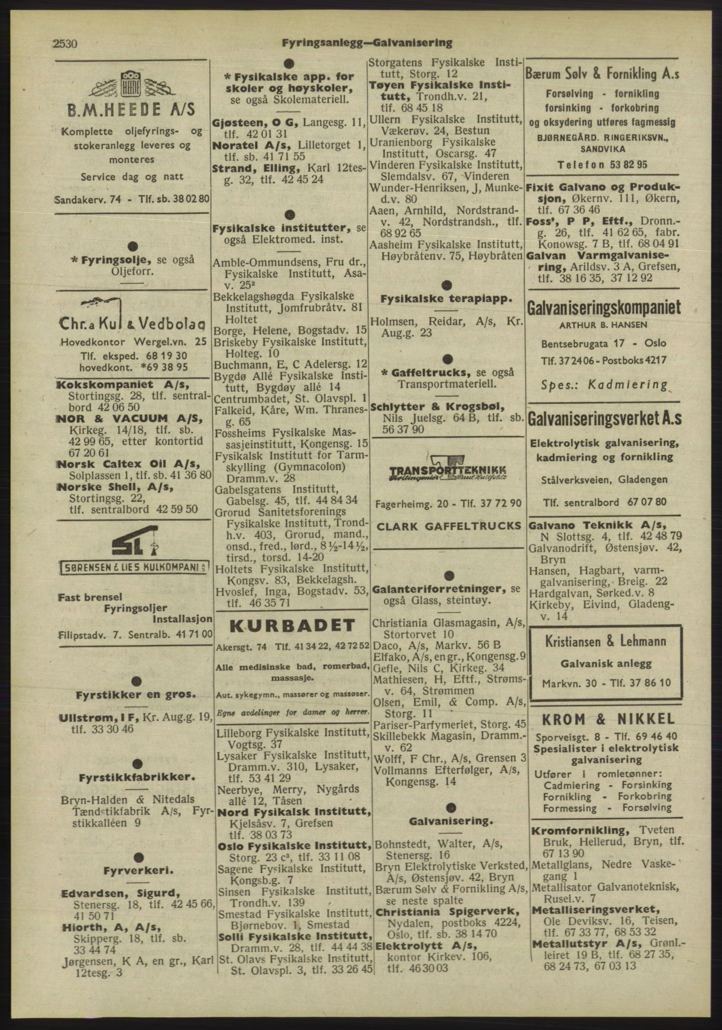 PUBL, Kristiania/Oslo adressebok, 1955, s. 2530