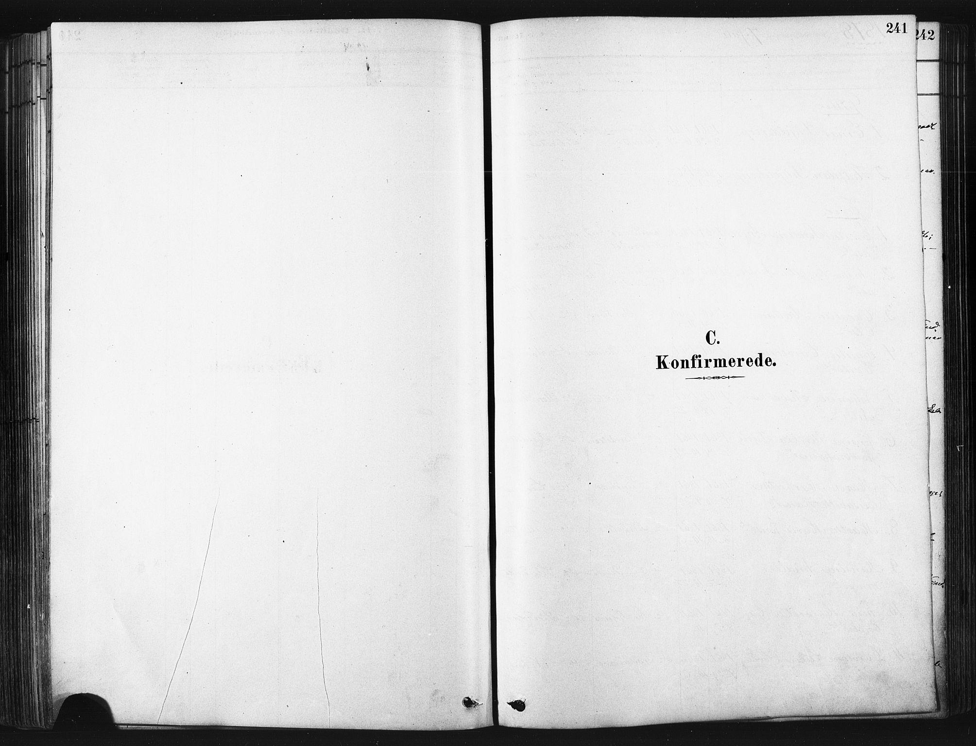 SATØ, Trondenes sokneprestkontor, H/Ha/L0014kirke: Ministerialbok nr. 14, 1878-1889, s. 241