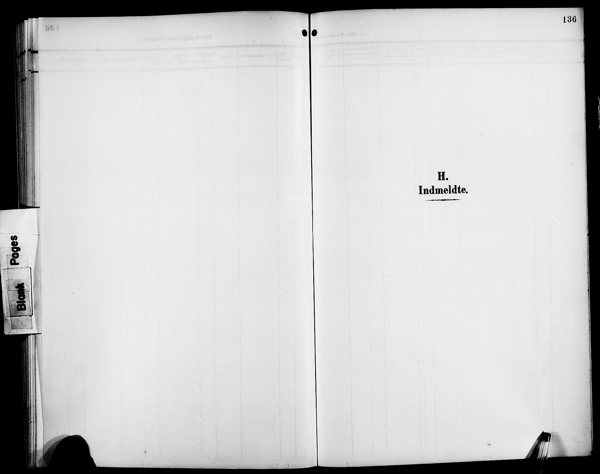 SAB, Bremanger Sokneprestembete, H/Hab: Klokkerbok nr. C 1, 1908-1919, s. 136