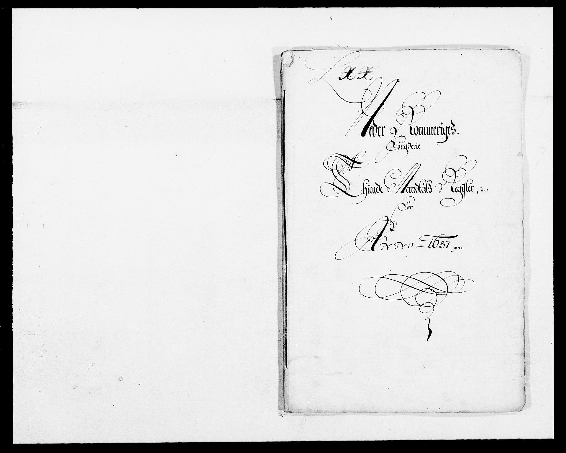RA, Rentekammeret inntil 1814, Reviderte regnskaper, Fogderegnskap, R11/L0572: Fogderegnskap Nedre Romerike, 1686-1687, s. 385