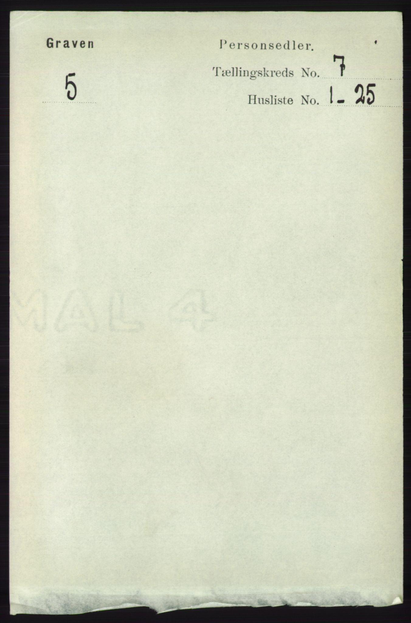 RA, Folketelling 1891 for 1233 Ulvik herred, 1891, s. 2269