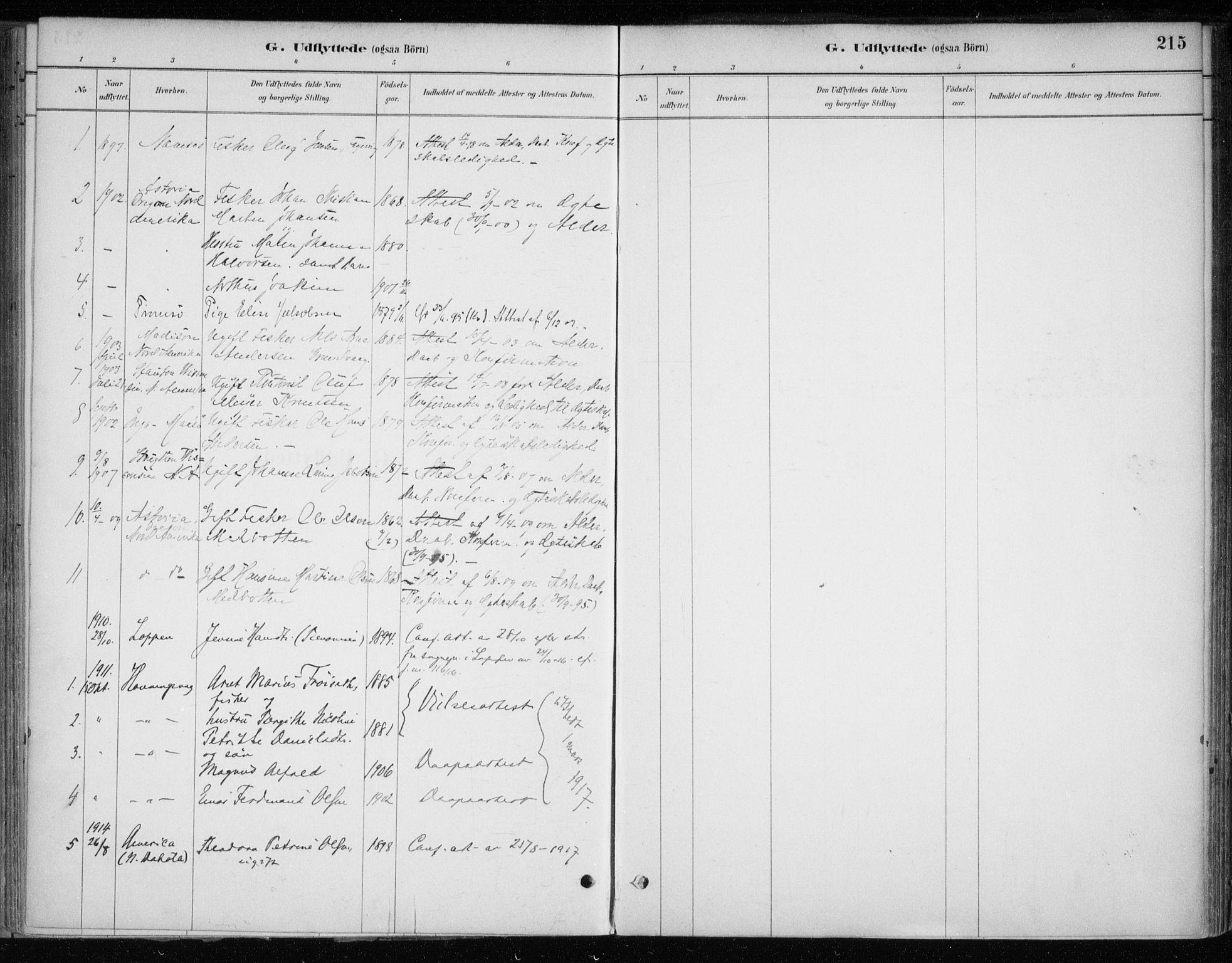 SATØ, Hammerfest sokneprestkontor, H/Ha/L0013.kirke: Ministerialbok nr. 13, 1898-1917, s. 215