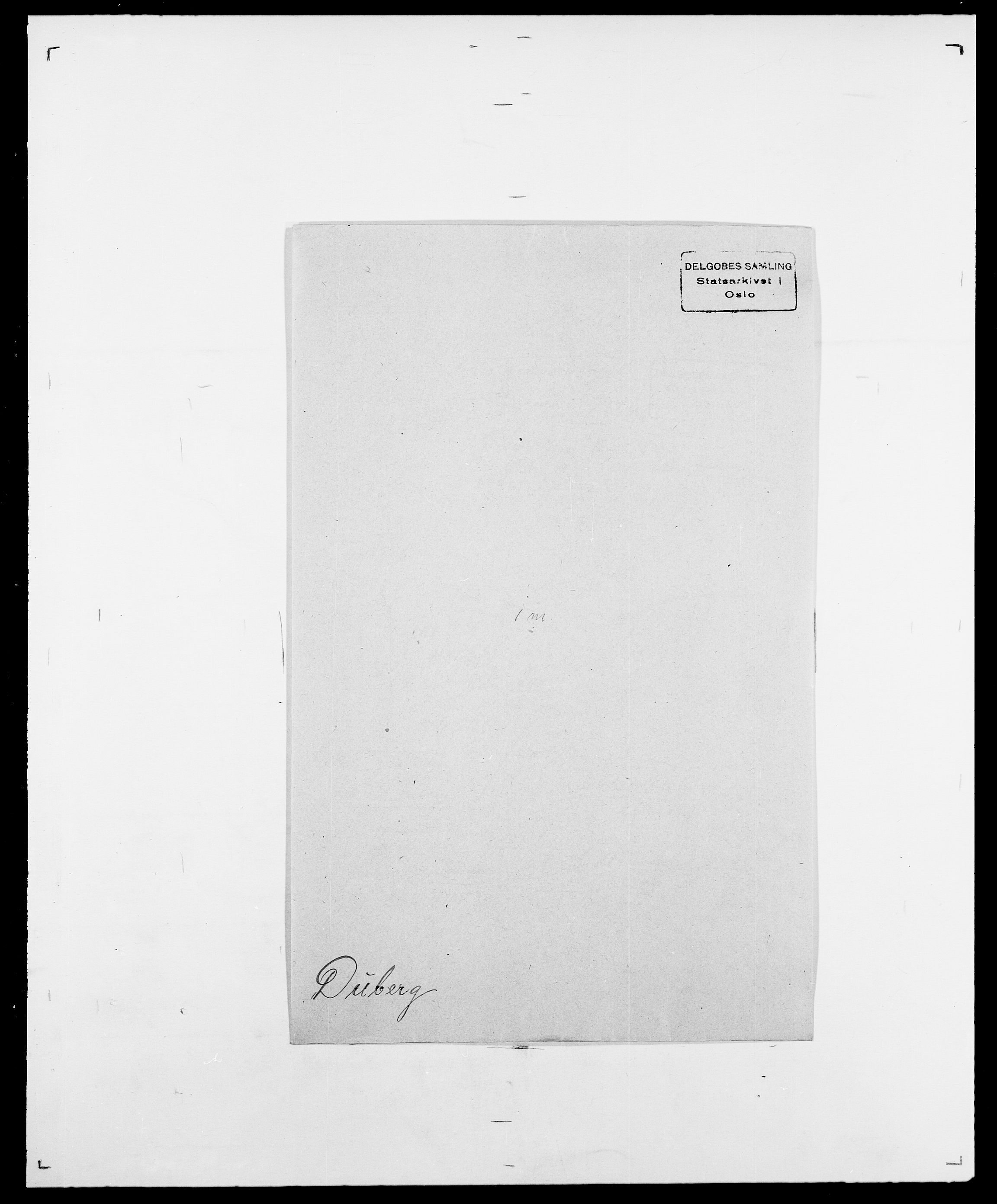 SAO, Delgobe, Charles Antoine - samling, D/Da/L0009: Dahl - v. Düren, s. 795