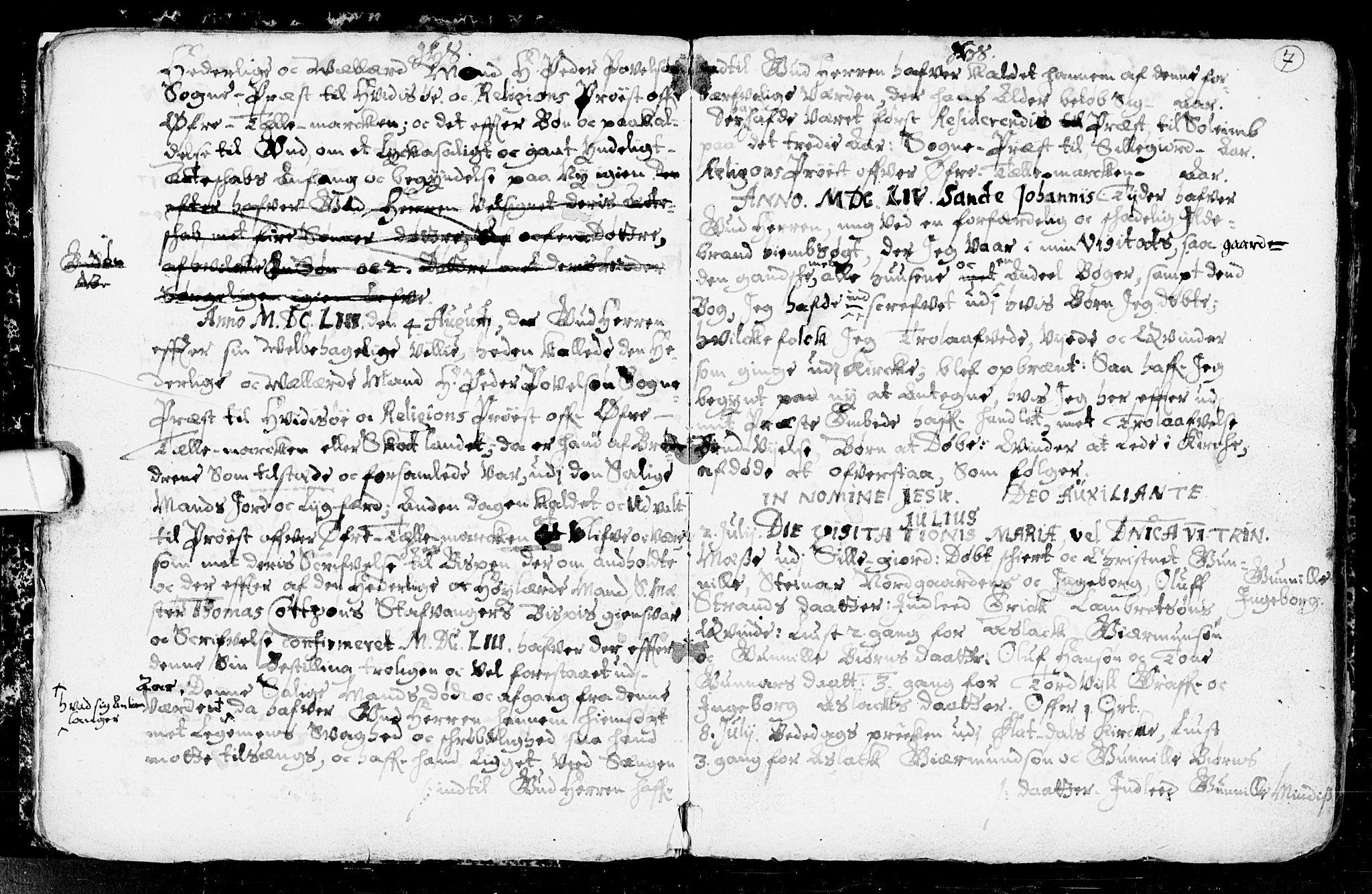 SAKO, Seljord kirkebøker, F/Fa/L0001: Ministerialbok nr. I 1, 1654-1686, s. 7