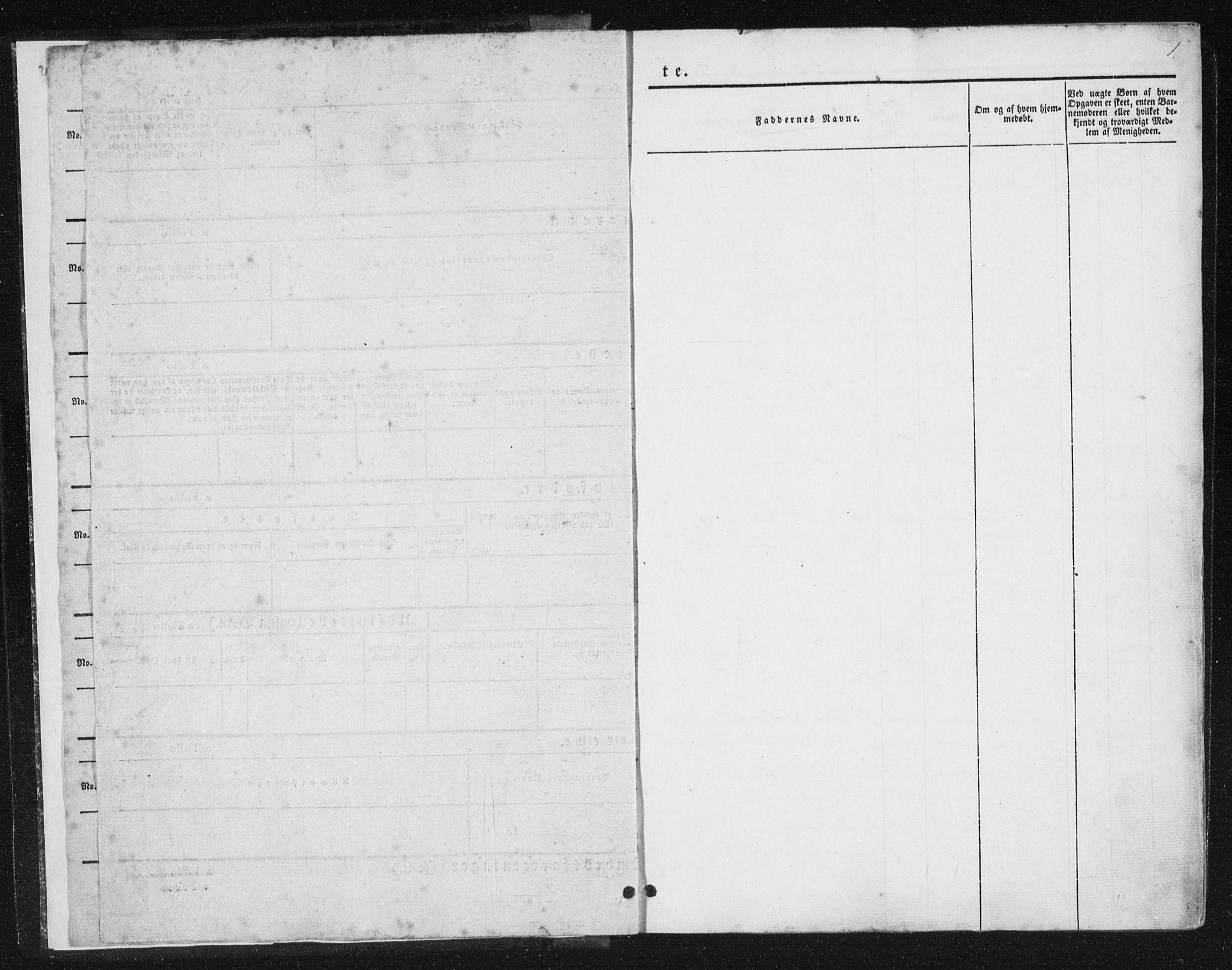 SAT, Ministerialprotokoller, klokkerbøker og fødselsregistre - Nord-Trøndelag, 780/L0640: Ministerialbok nr. 780A05, 1845-1856, s. 1