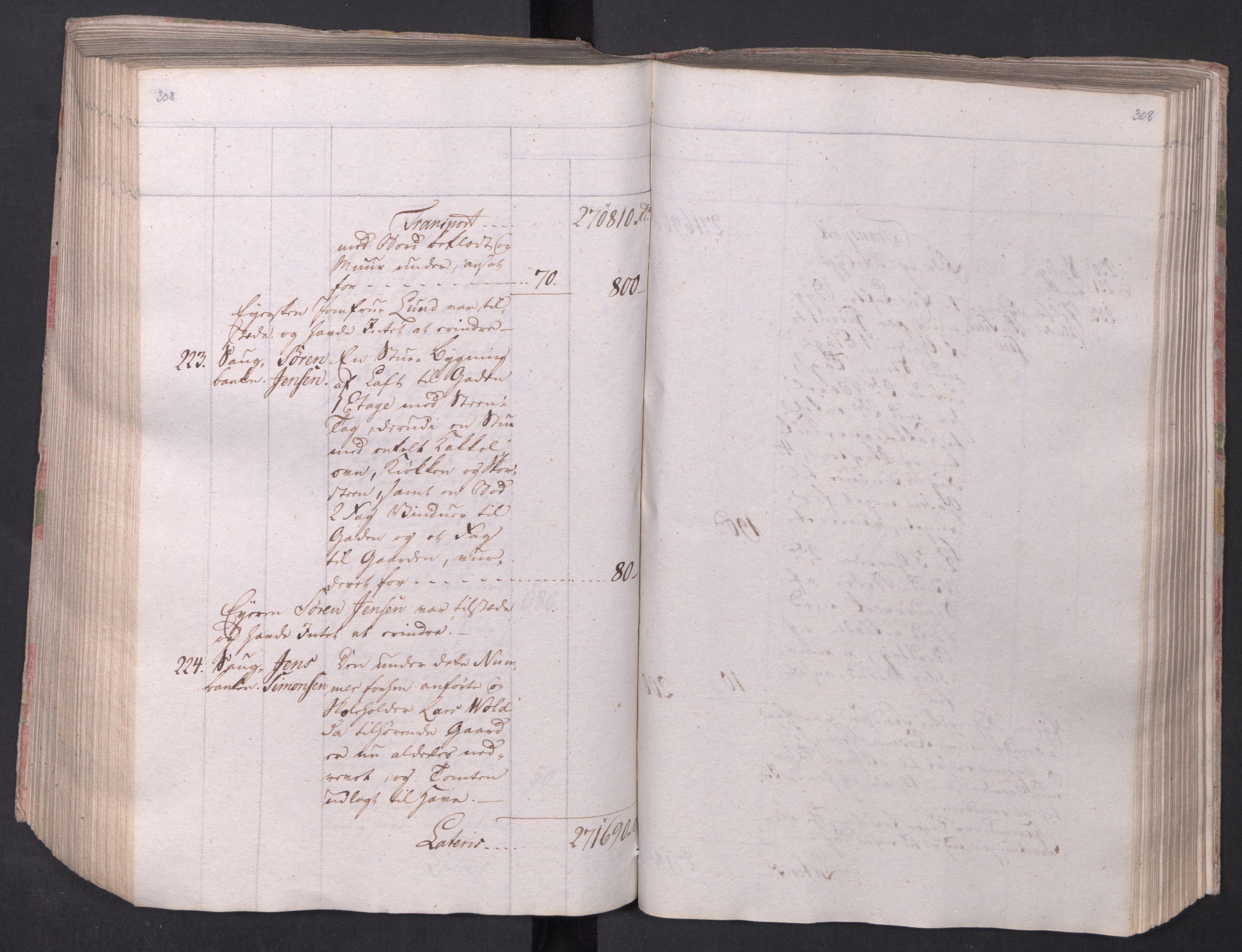 SAO, Kristiania stiftamt, I/Ia/L0015: Branntakster, 1797, s. 308