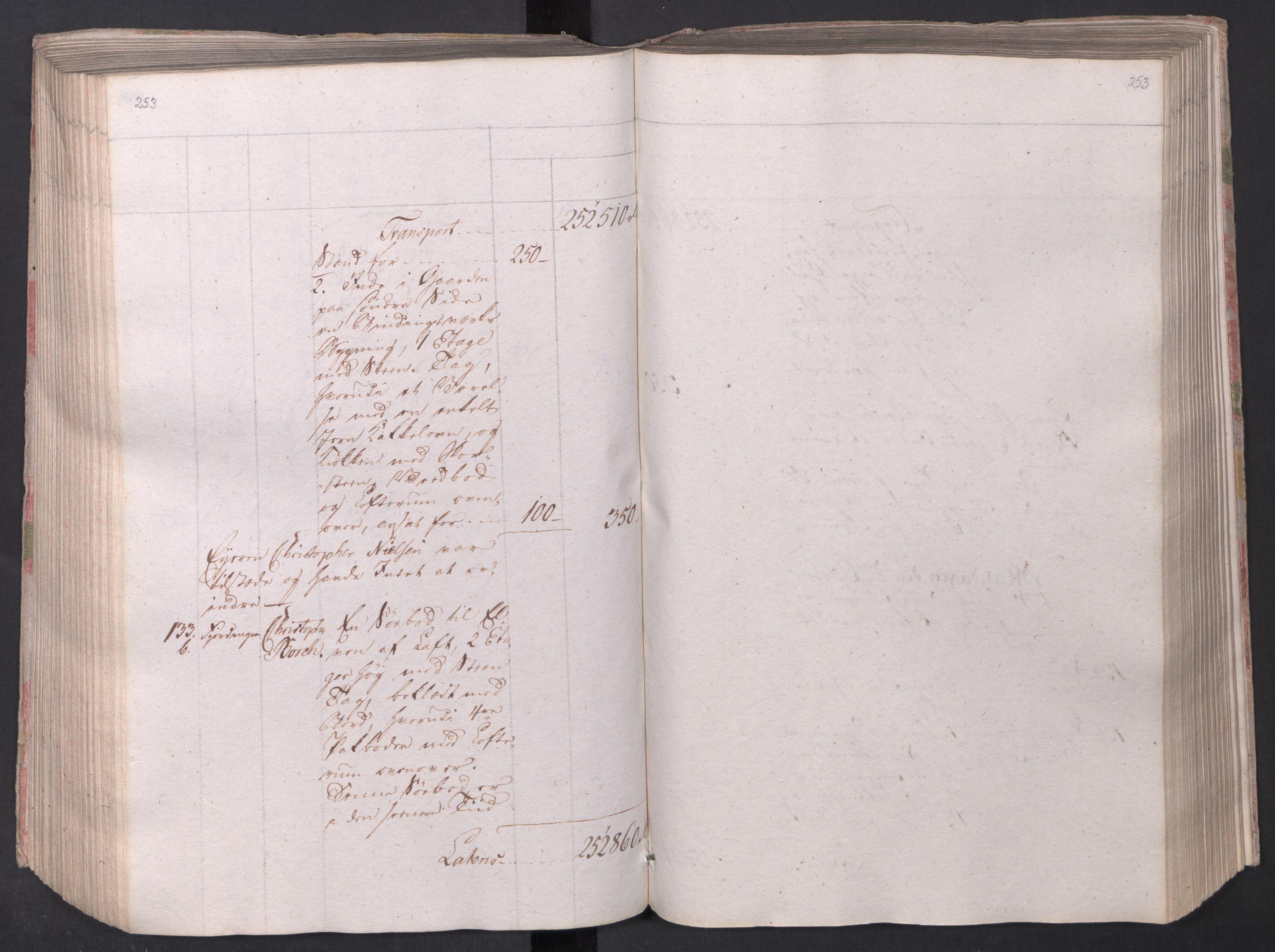 SAO, Kristiania stiftamt, I/Ia/L0015: Branntakster, 1797, s. 253