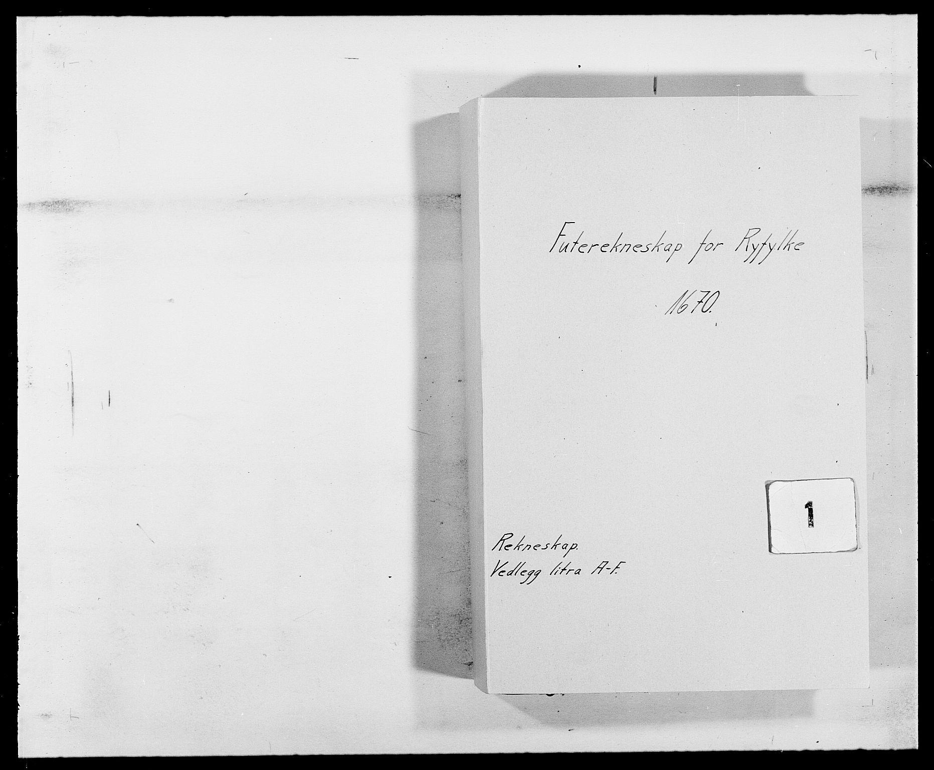 RA, Rentekammeret inntil 1814, Reviderte regnskaper, Fogderegnskap, R47/L2843: Fogderegnskap Ryfylke, 1670-1671, s. 1