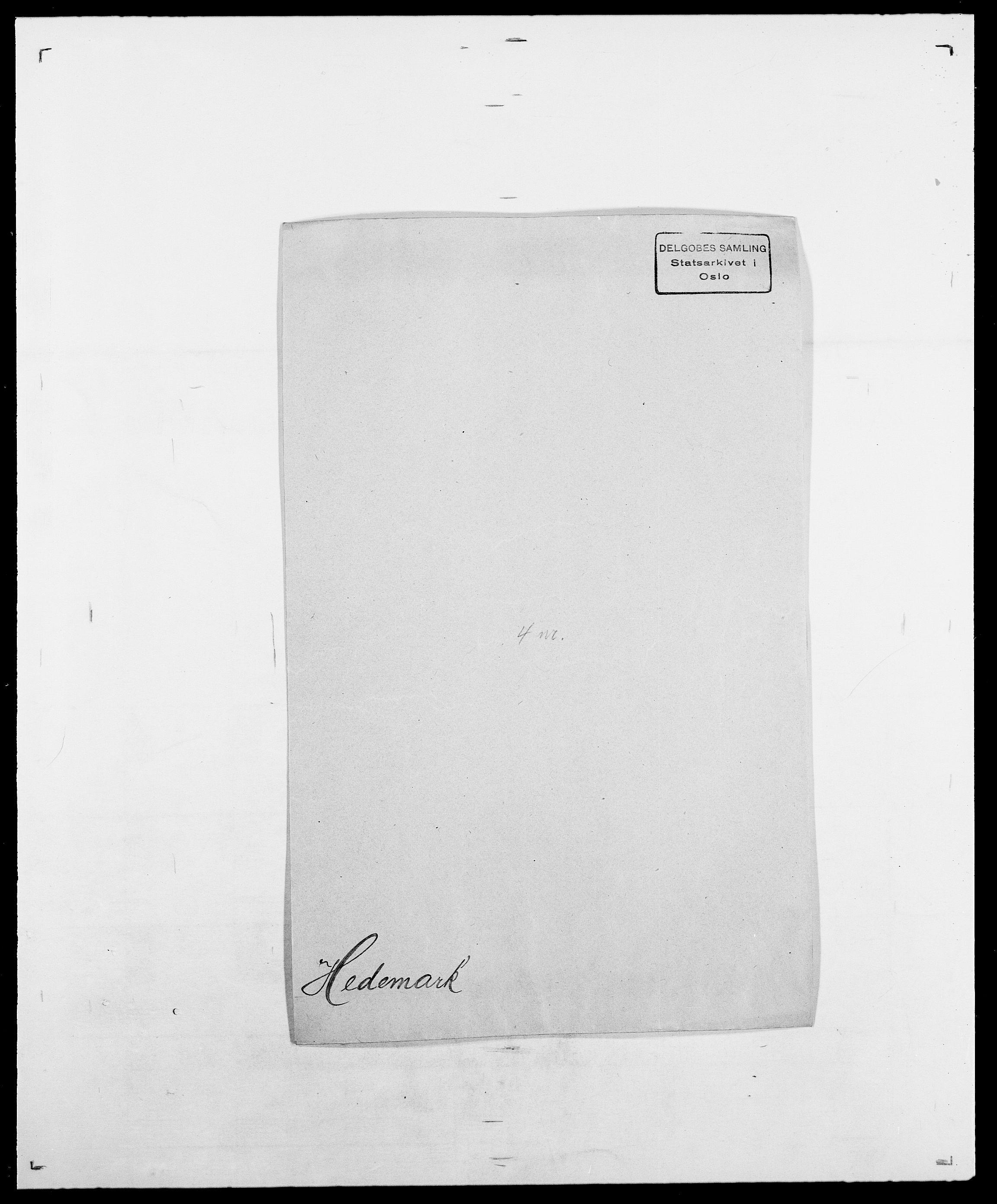 SAO, Delgobe, Charles Antoine - samling, D/Da/L0016: Hamborg - Hektoen, s. 669