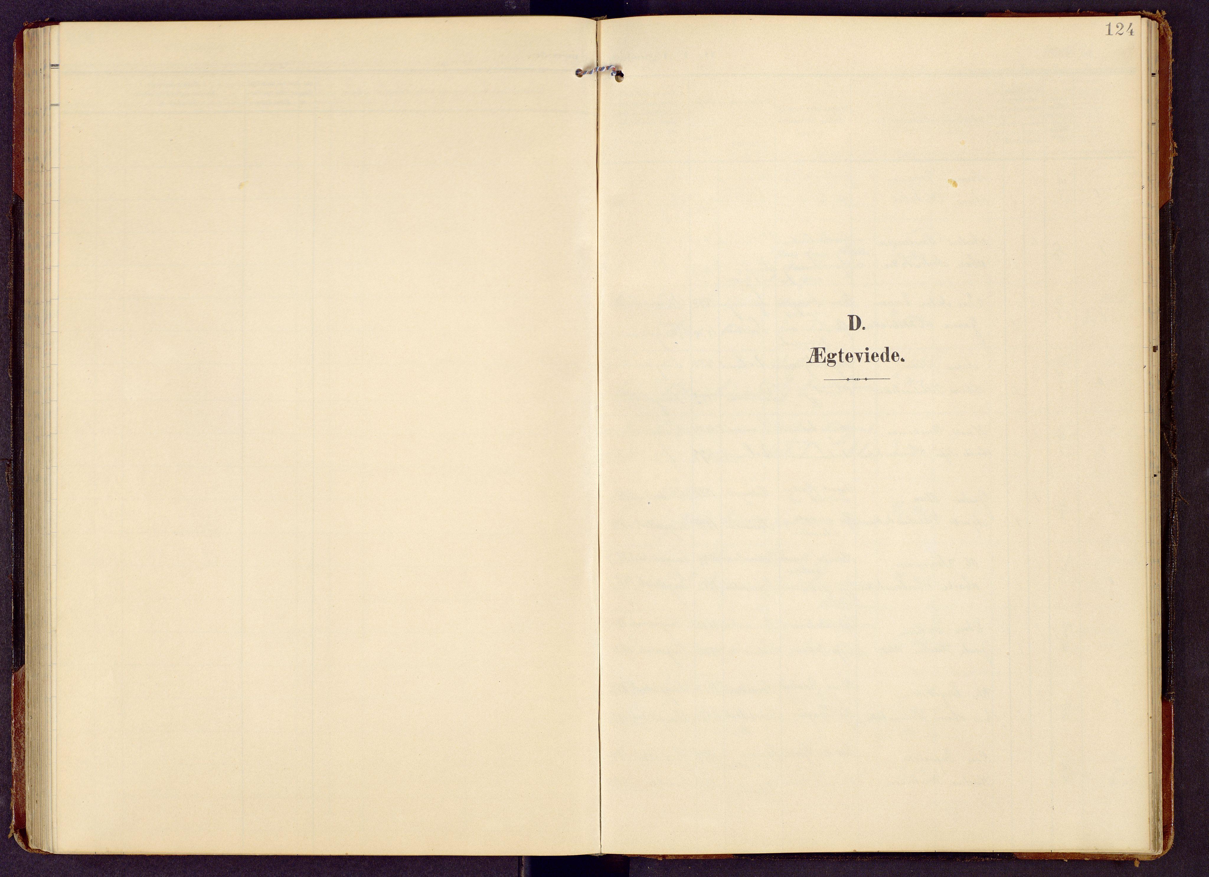 SAH, Brandbu prestekontor, Klokkerbok nr. 9, 1903-1916, s. 124