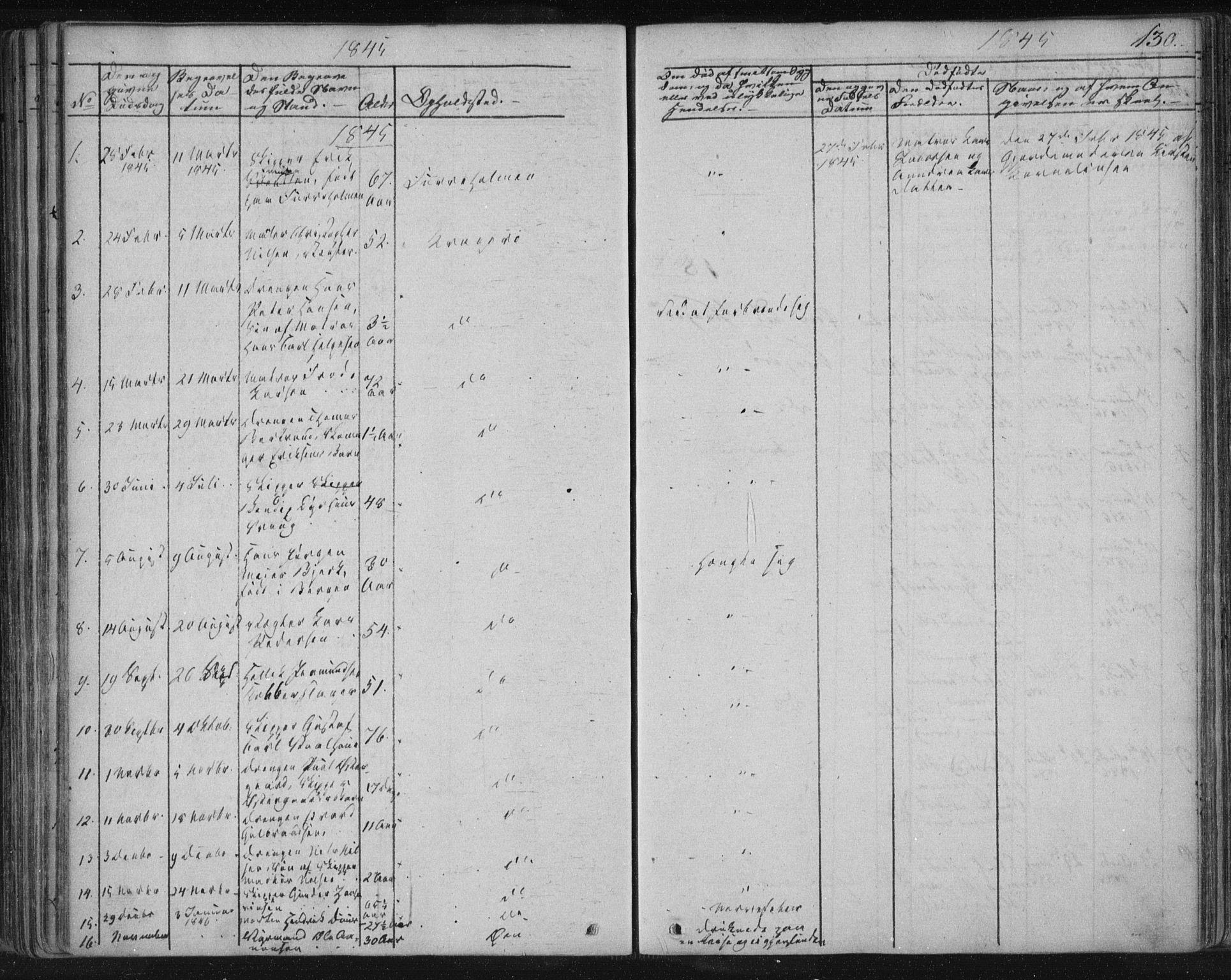 SAKO, Kragerø kirkebøker, F/Fa/L0005: Ministerialbok nr. 5, 1832-1847, s. 130
