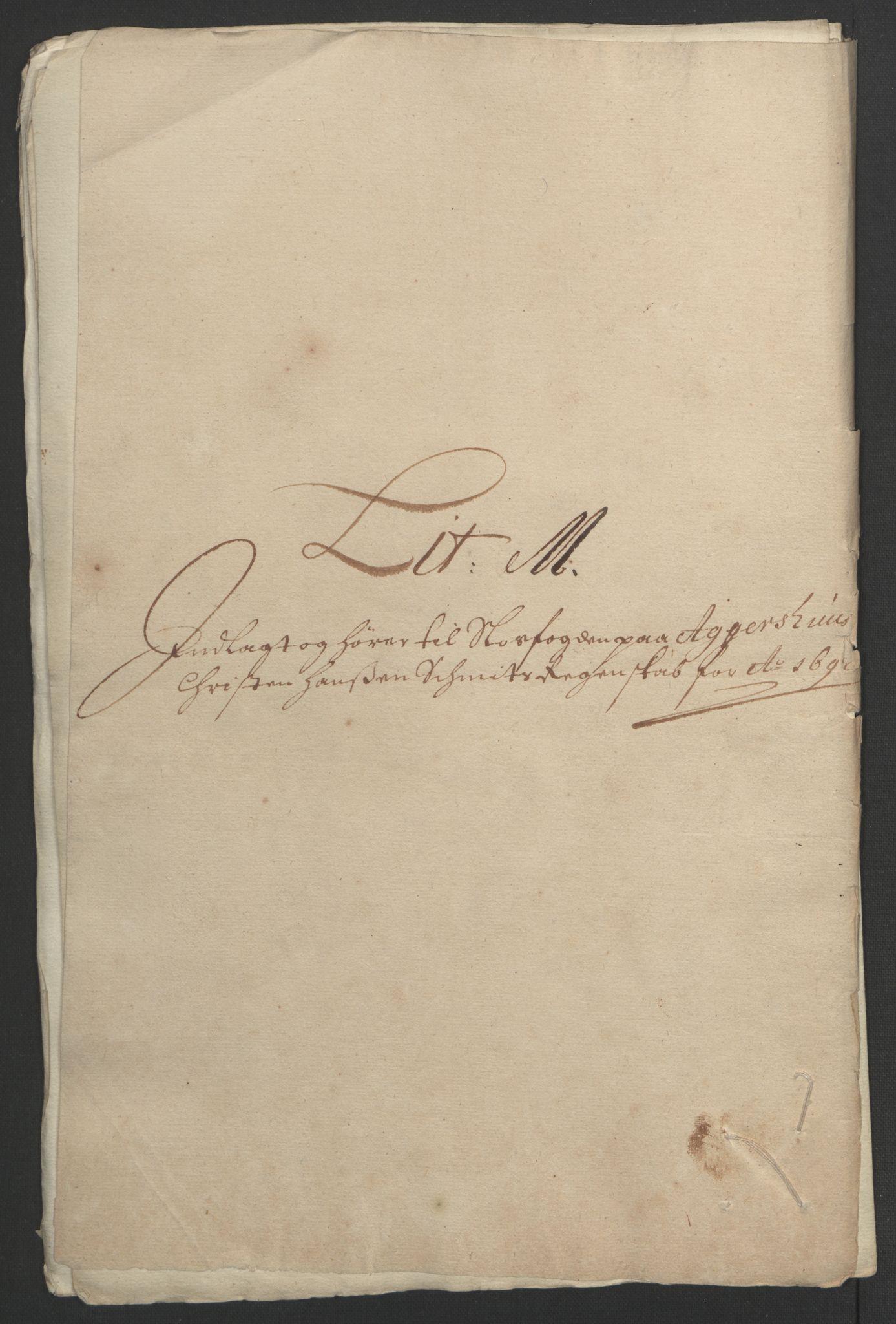 RA, Rentekammeret inntil 1814, Reviderte regnskaper, Fogderegnskap, R08/L0426: Fogderegnskap Aker, 1692-1693, s. 147
