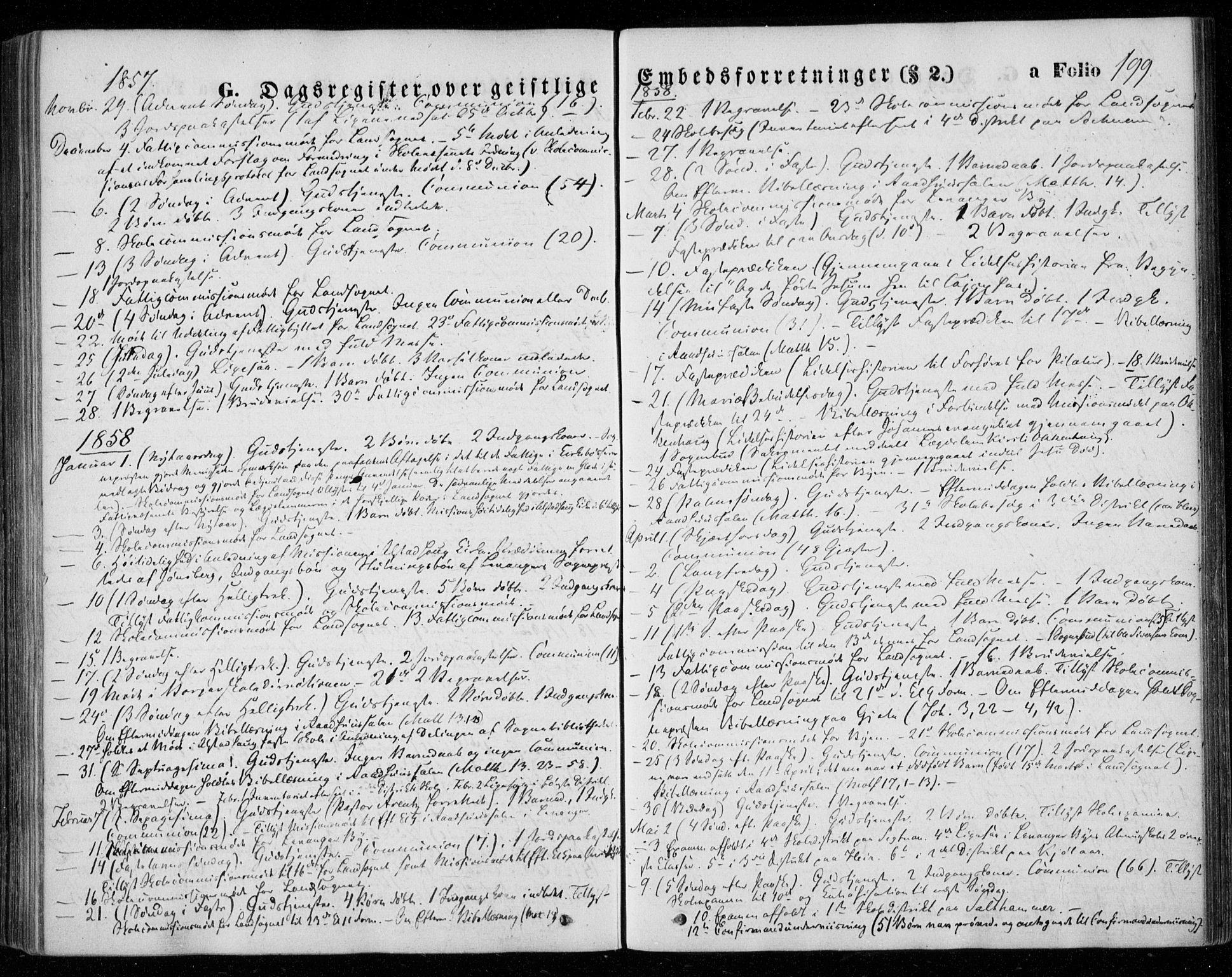 SAT, Ministerialprotokoller, klokkerbøker og fødselsregistre - Nord-Trøndelag, 720/L0184: Ministerialbok nr. 720A02 /1, 1855-1863, s. 199