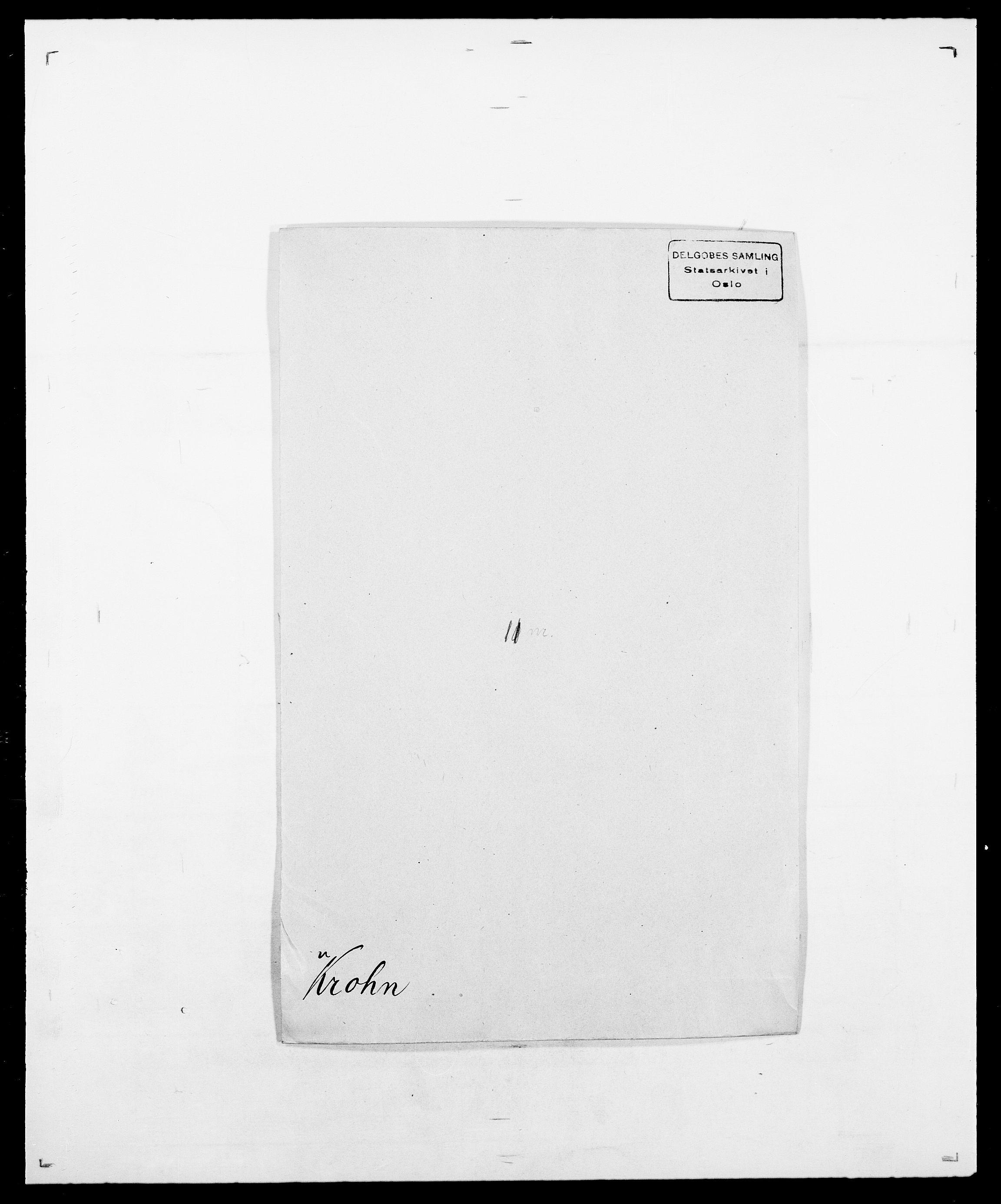 SAO, Delgobe, Charles Antoine - samling, D/Da/L0022: Krog - Lasteen, s. 75