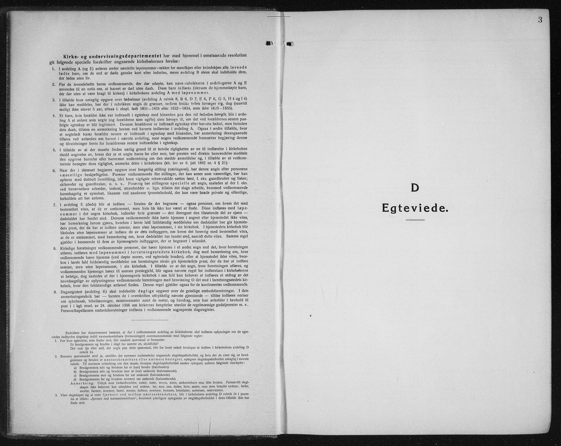 SAT, Ministerialprotokoller, klokkerbøker og fødselsregistre - Sør-Trøndelag, 605/L0260: Klokkerbok nr. 605C07, 1922-1942, s. 3