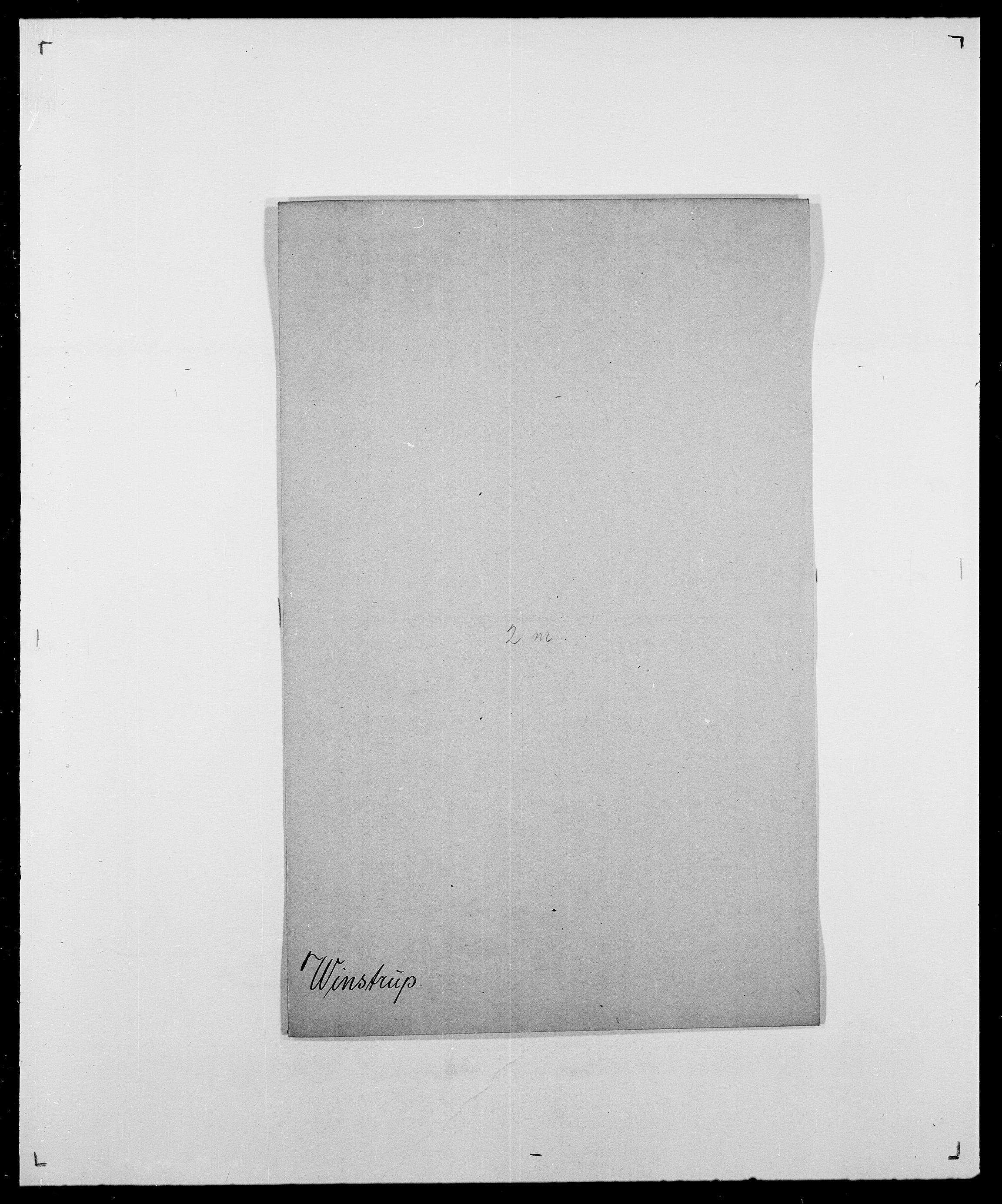 SAO, Delgobe, Charles Antoine - samling, D/Da/L0042: Vilain - Wulf, Wulff, se også Wolf, s. 284