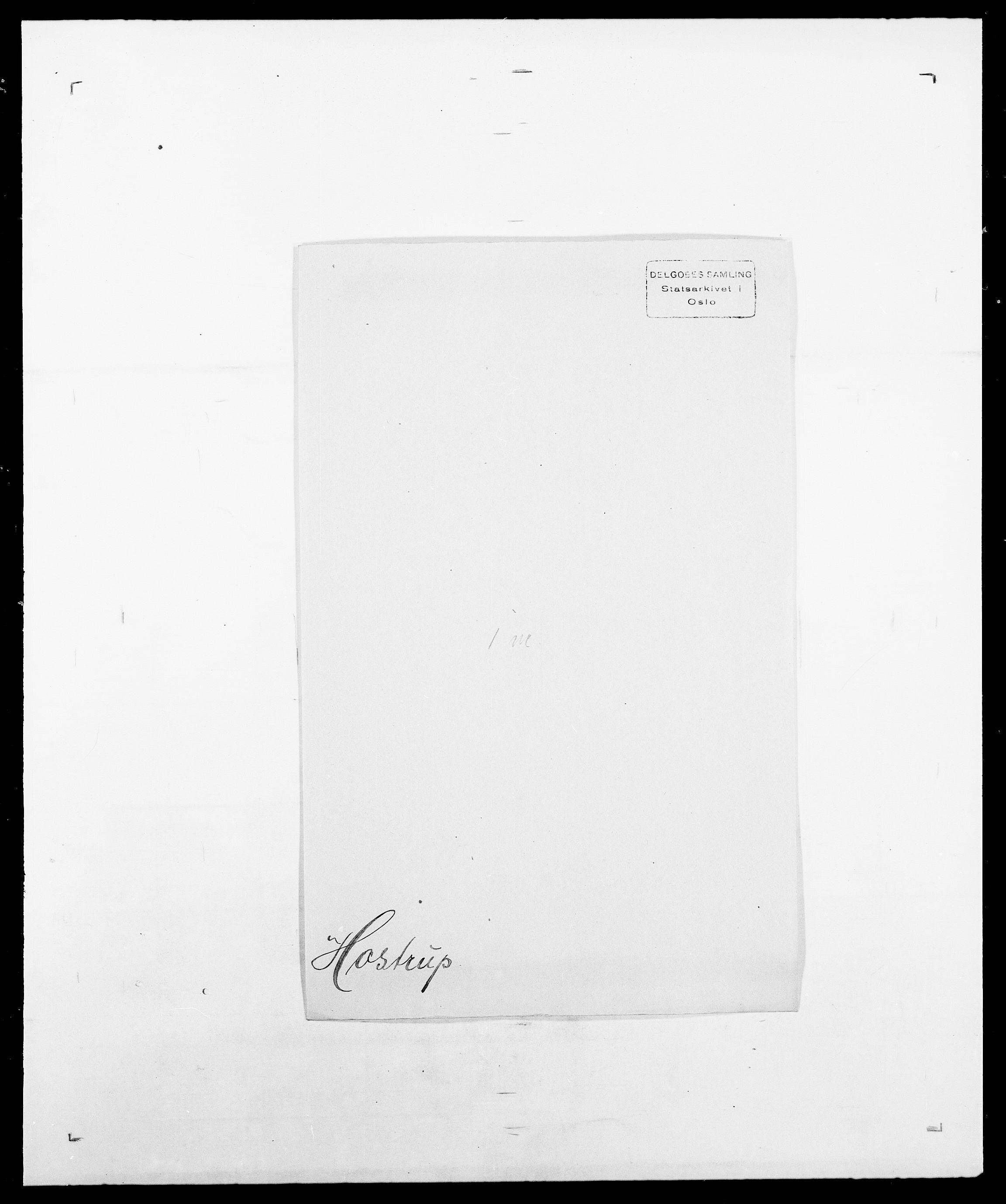 SAO, Delgobe, Charles Antoine - samling, D/Da/L0018: Hoch - Howert, s. 1004