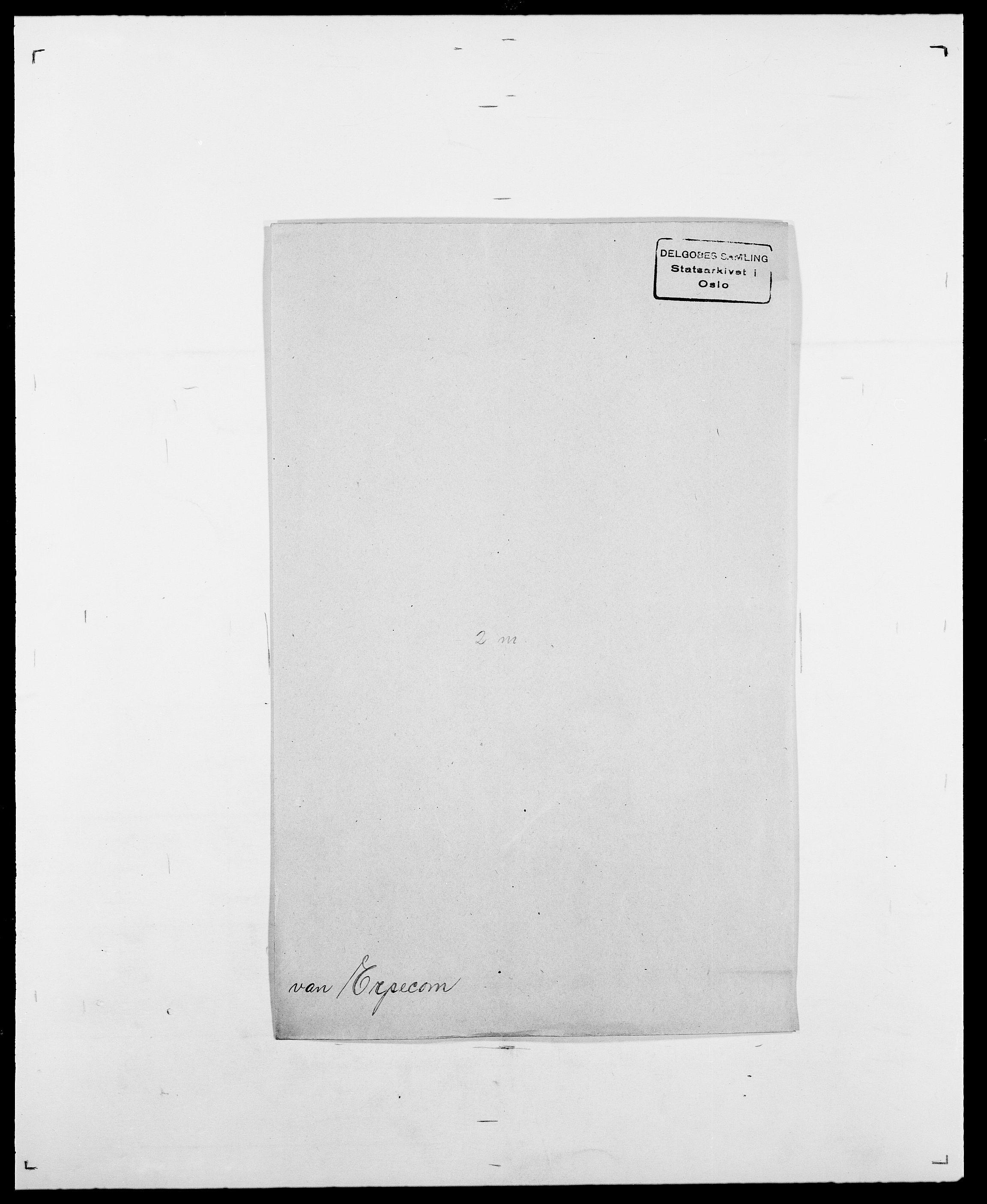 SAO, Delgobe, Charles Antoine - samling, D/Da/L0010: Dürendahl - Fagelund, s. 613