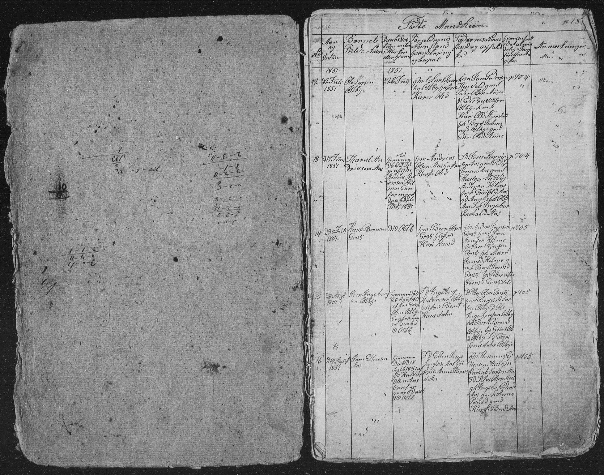 SAT, Ministerialprotokoller, klokkerbøker og fødselsregistre - Sør-Trøndelag, 698/L1165: Klokkerbok nr. 698C02, 1851-1861, s. 186-187