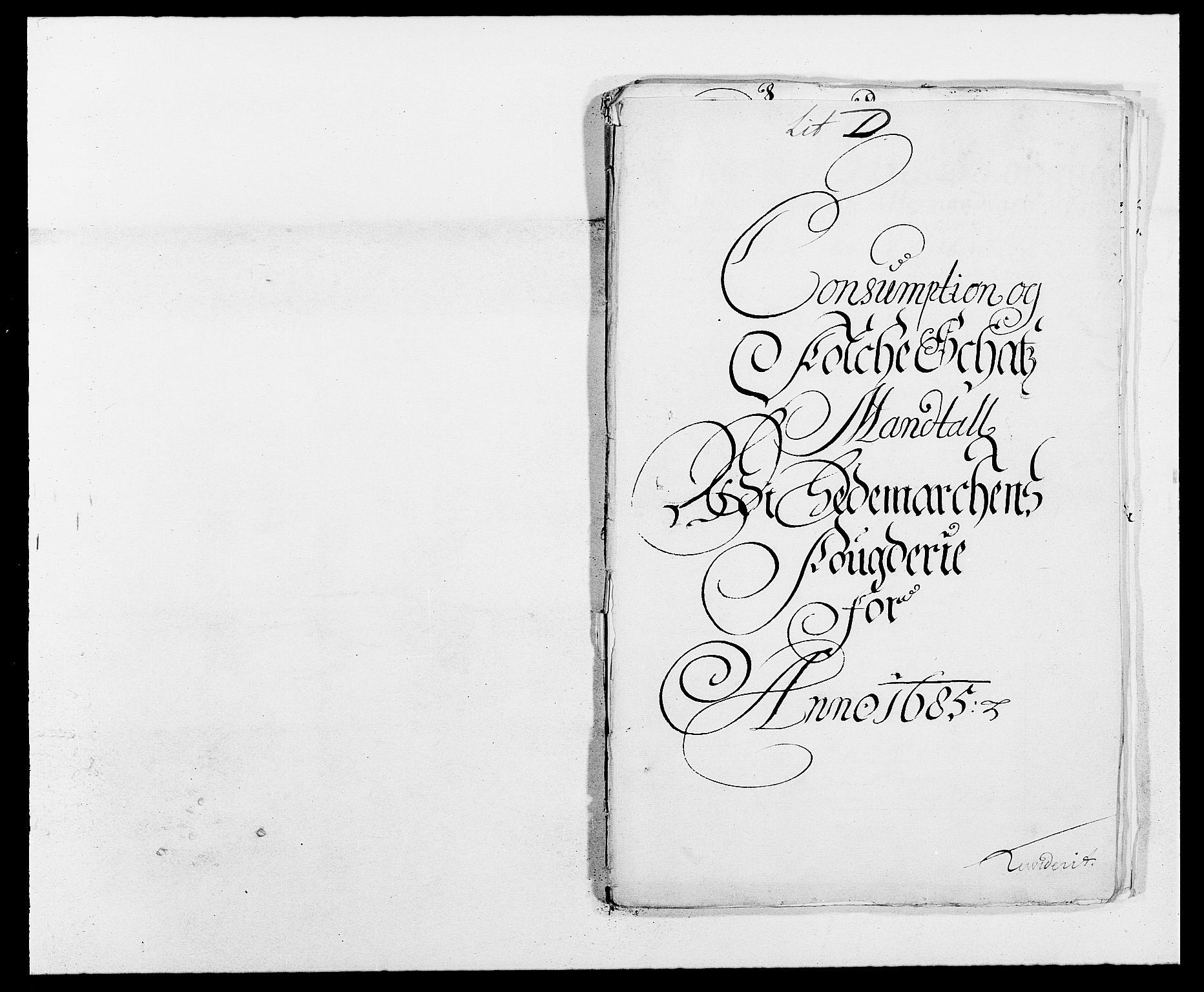 RA, Rentekammeret inntil 1814, Reviderte regnskaper, Fogderegnskap, R16/L1026: Fogderegnskap Hedmark, 1685, s. 103