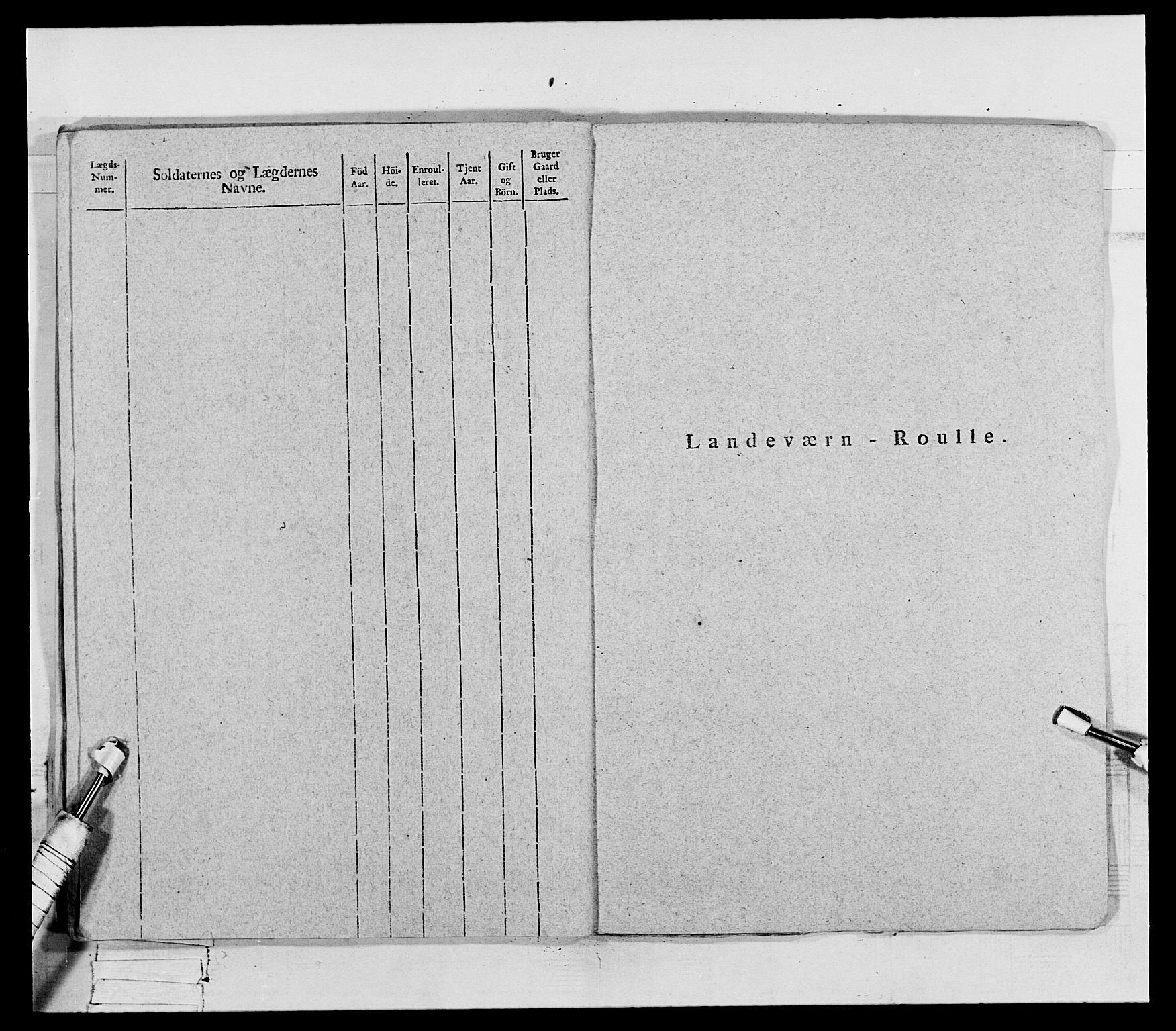 RA, Generalitets- og kommissariatskollegiet, Det kongelige norske kommissariatskollegium, E/Eh/L0069: Opplandske gevorbne infanteriregiment, 1810-1818, s. 347
