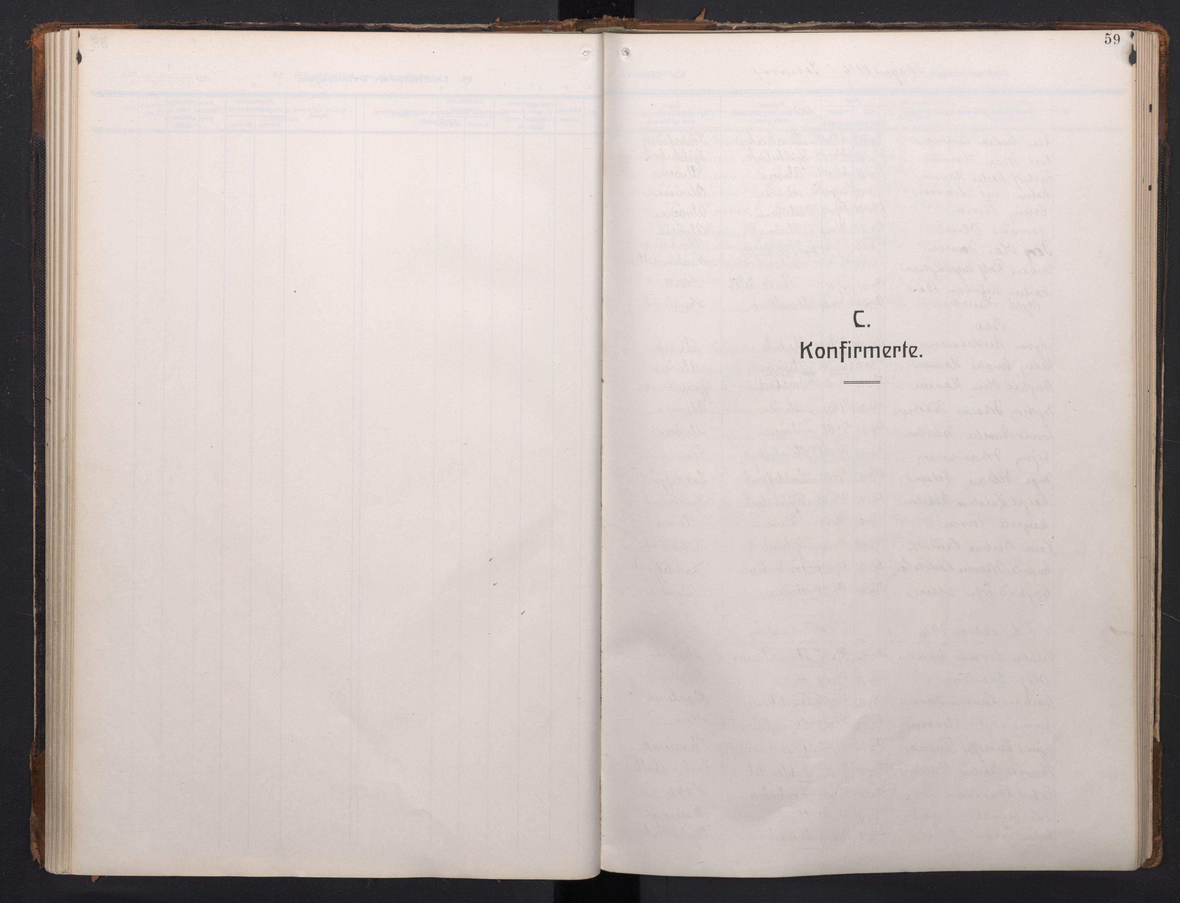 SAB, Laksevåg Sokneprestembete, H/Ha/Haa/Haah/L0001: Ministerialbok nr. H 1, 1915-1934, s. 59