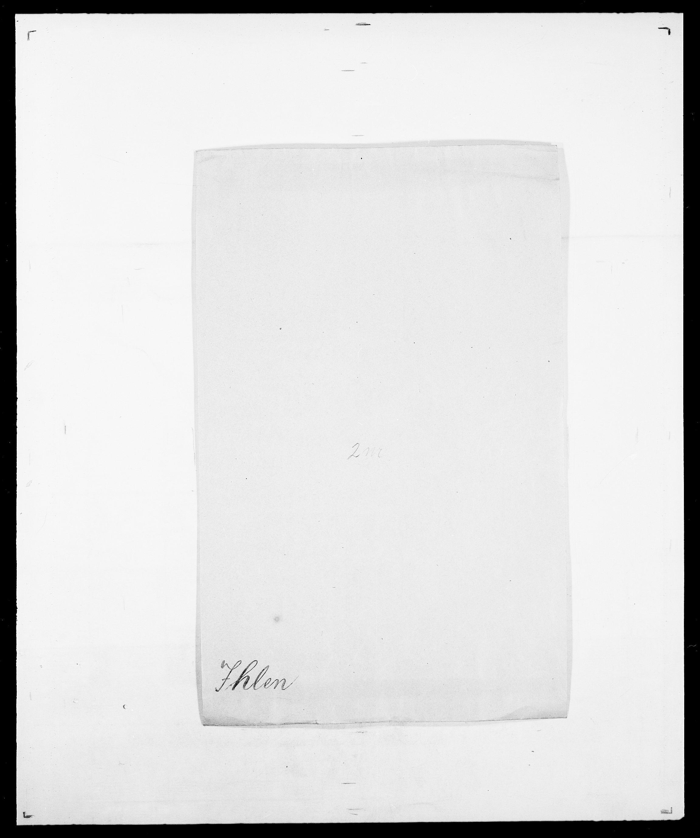 SAO, Delgobe, Charles Antoine - samling, D/Da/L0019: van der Hude - Joys, s. 762