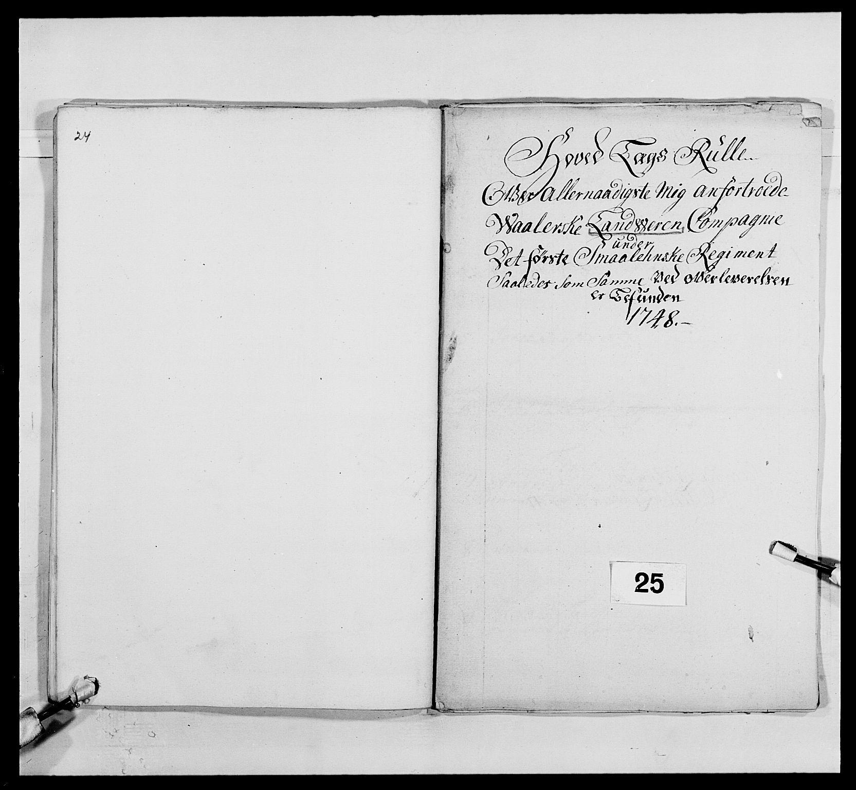 RA, Kommanderende general (KG I) med Det norske krigsdirektorium, E/Ea/L0495: 1. Smålenske regiment, 1732-1763, s. 369