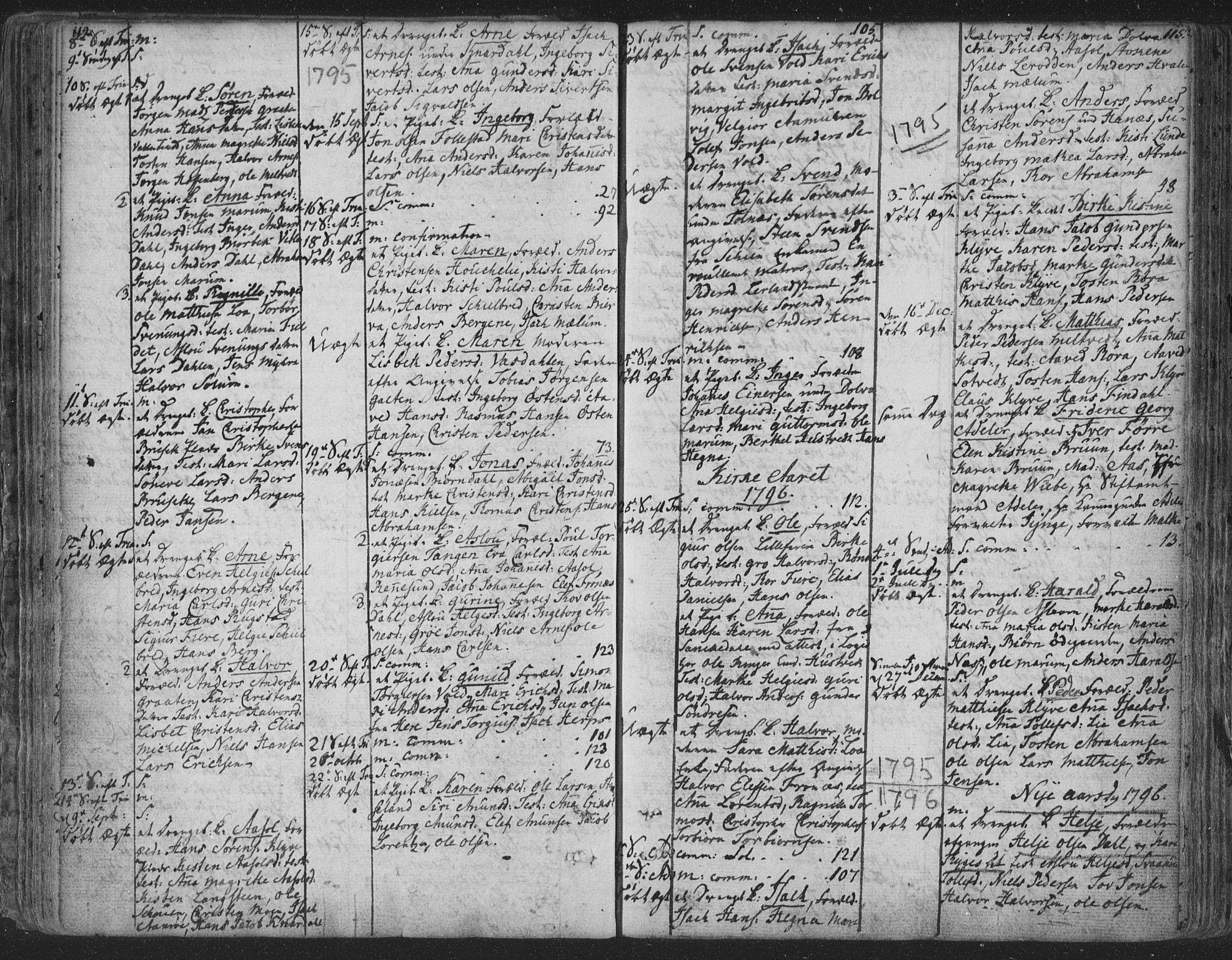 SAKO, Solum kirkebøker, F/Fa/L0003: Ministerialbok nr. I 3, 1761-1814, s. 114-115