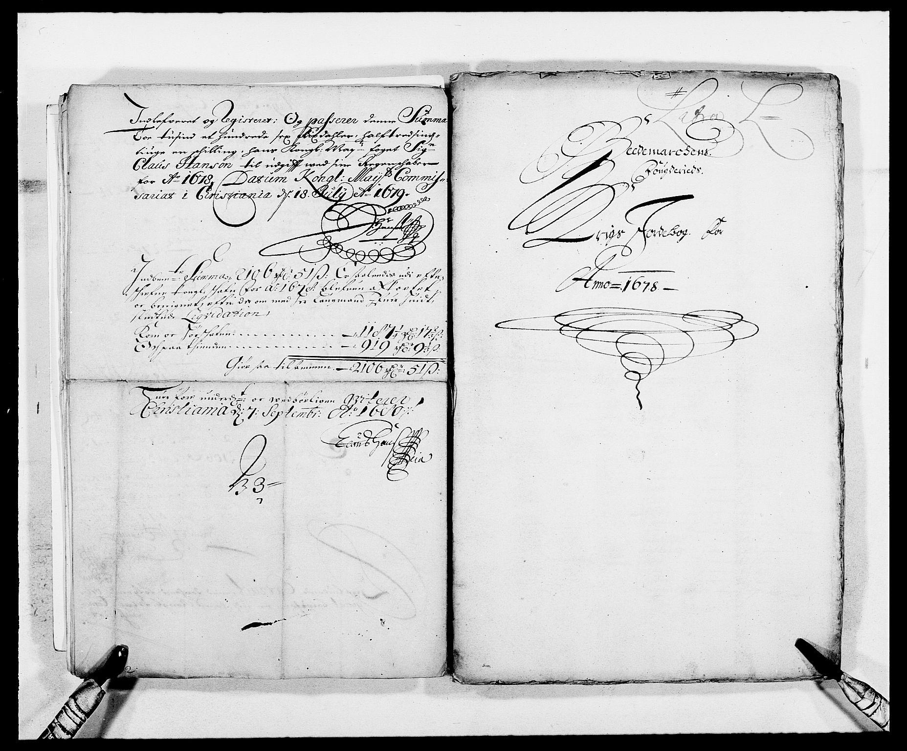 RA, Rentekammeret inntil 1814, Reviderte regnskaper, Fogderegnskap, R16/L1019: Fogderegnskap Hedmark, 1679, s. 14