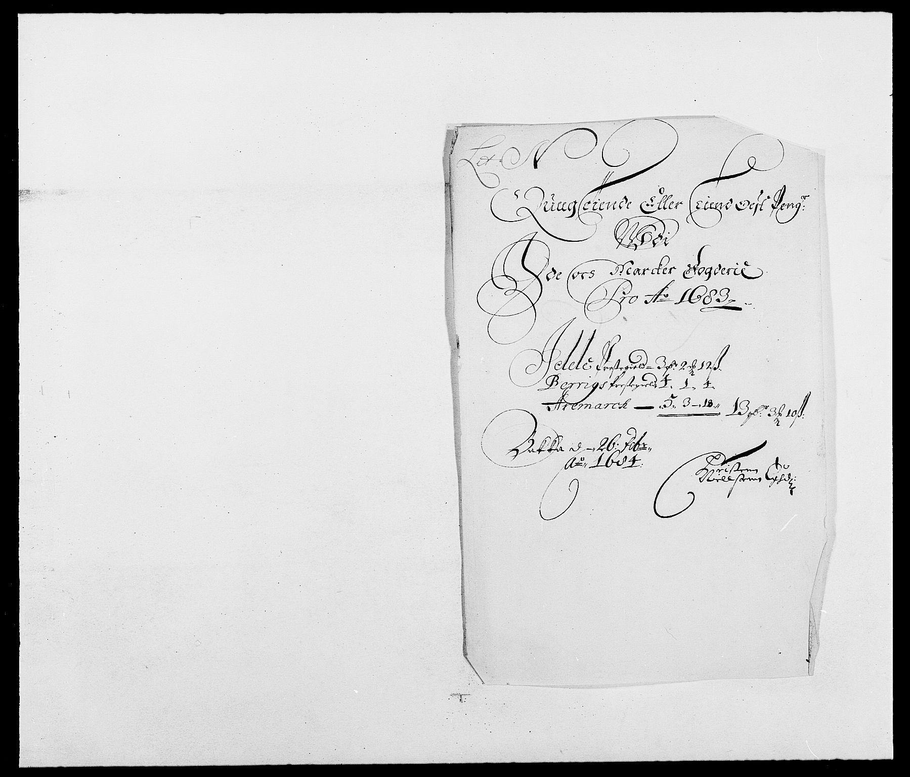 RA, Rentekammeret inntil 1814, Reviderte regnskaper, Fogderegnskap, R01/L0004: Fogderegnskap Idd og Marker , 1682-1683, s. 230