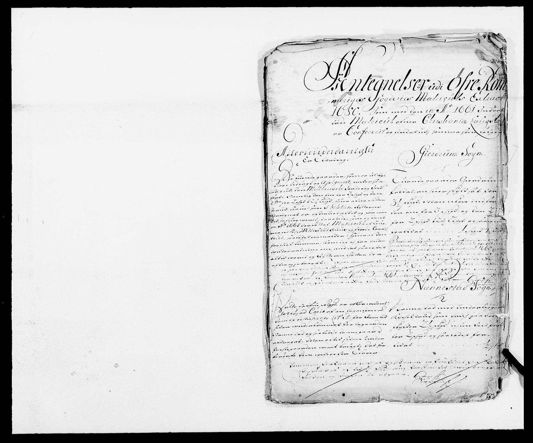 RA, Rentekammeret inntil 1814, Reviderte regnskaper, Fogderegnskap, R12/L0695: Fogderegnskap Øvre Romerike, 1680, s. 256