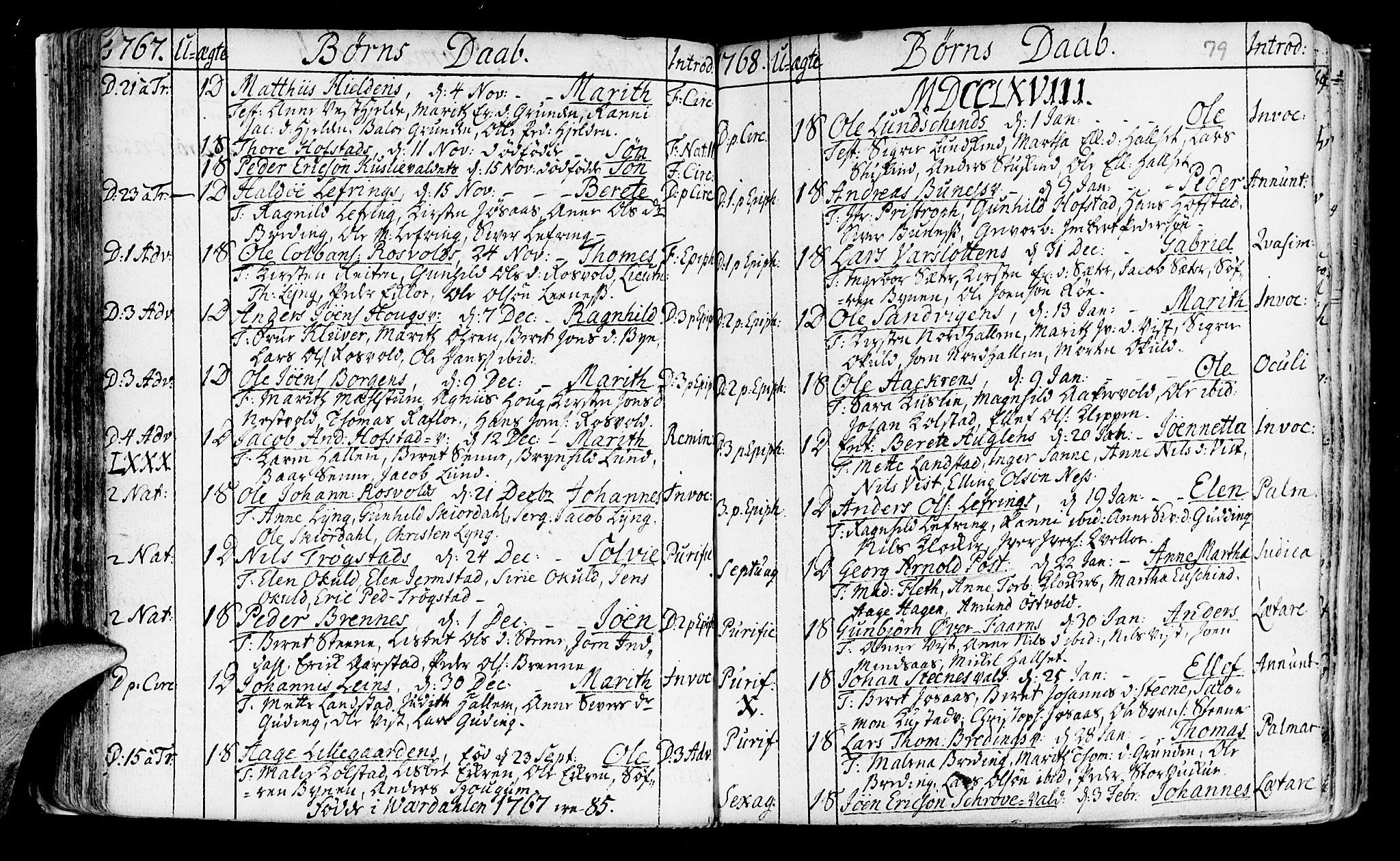 SAT, Ministerialprotokoller, klokkerbøker og fødselsregistre - Nord-Trøndelag, 723/L0231: Ministerialbok nr. 723A02, 1748-1780, s. 79
