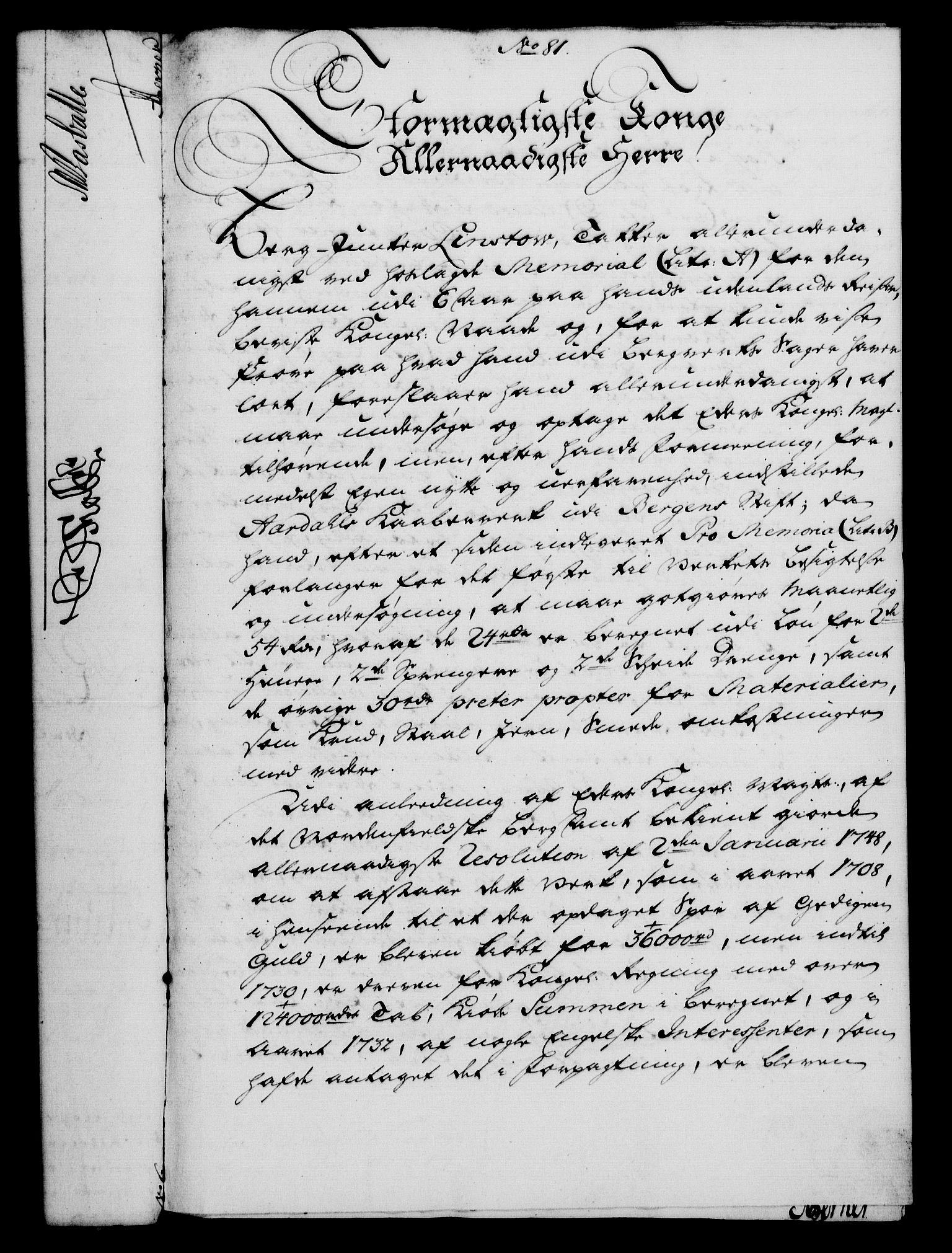 RA, Rentekammeret, Kammerkanselliet, G/Gf/Gfa/L0033: Norsk relasjons- og resolusjonsprotokoll (merket RK 52.33), 1751, s. 405