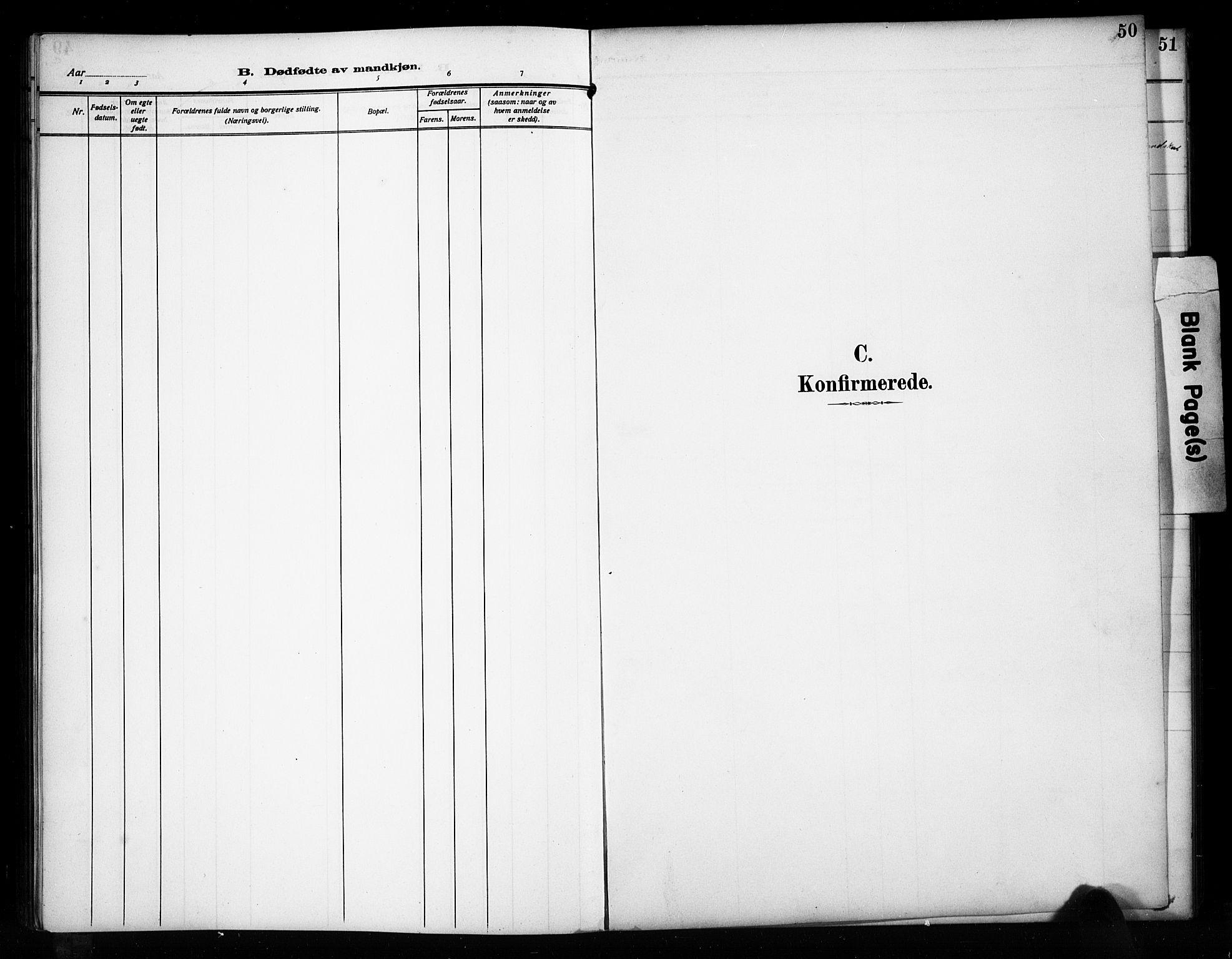 SAH, Sør-Aurdal prestekontor, Klokkerbok nr. 17, 1894-1923, s. 50