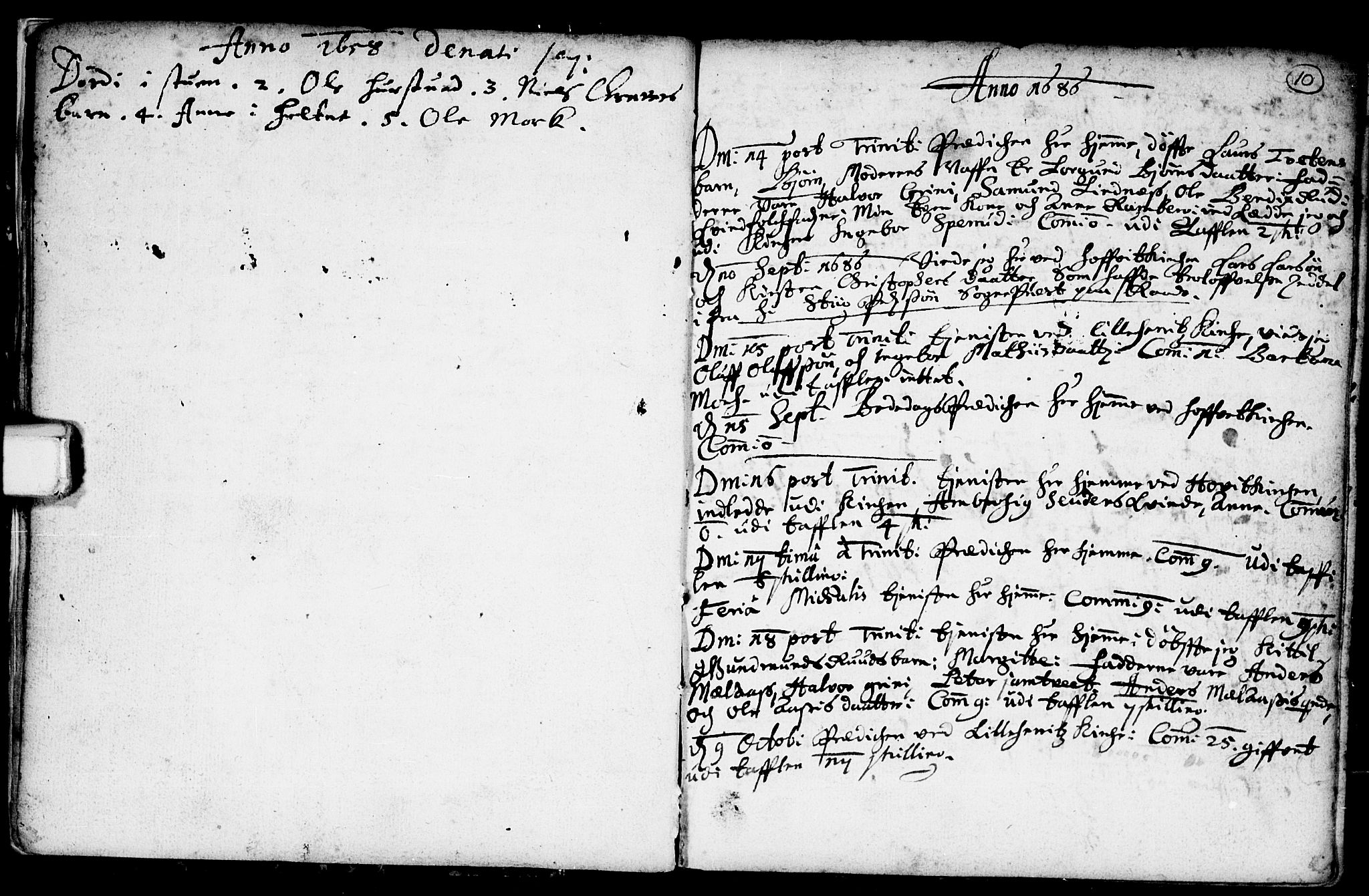 SAKO, Heddal kirkebøker, F/Fa/L0001: Ministerialbok nr. I 1, 1648-1699, s. 10