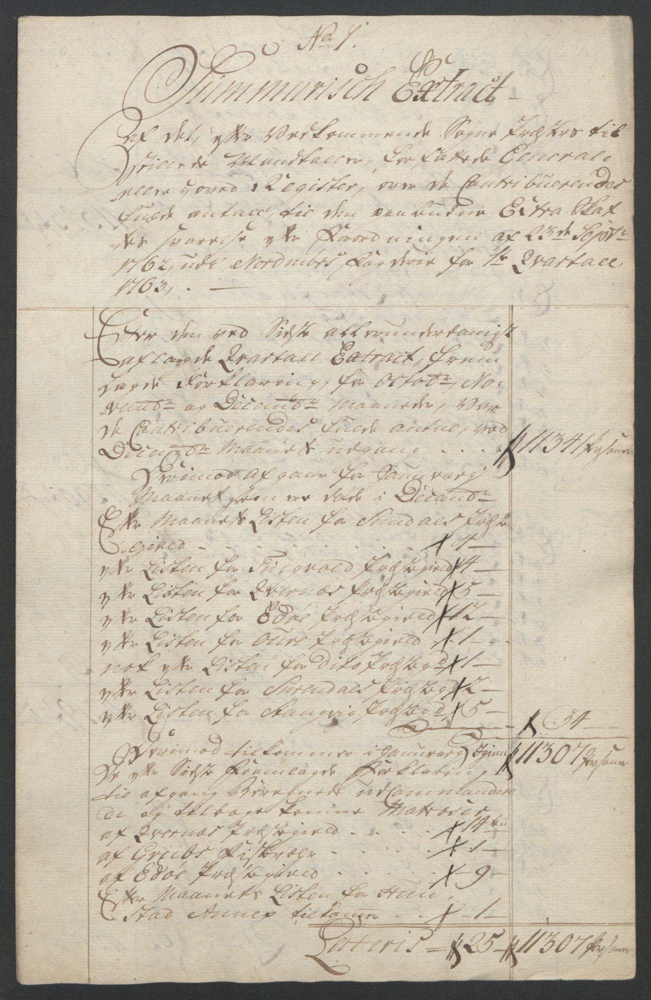 RA, Rentekammeret inntil 1814, Reviderte regnskaper, Fogderegnskap, R56/L3841: Ekstraskatten Nordmøre, 1762-1763, s. 206