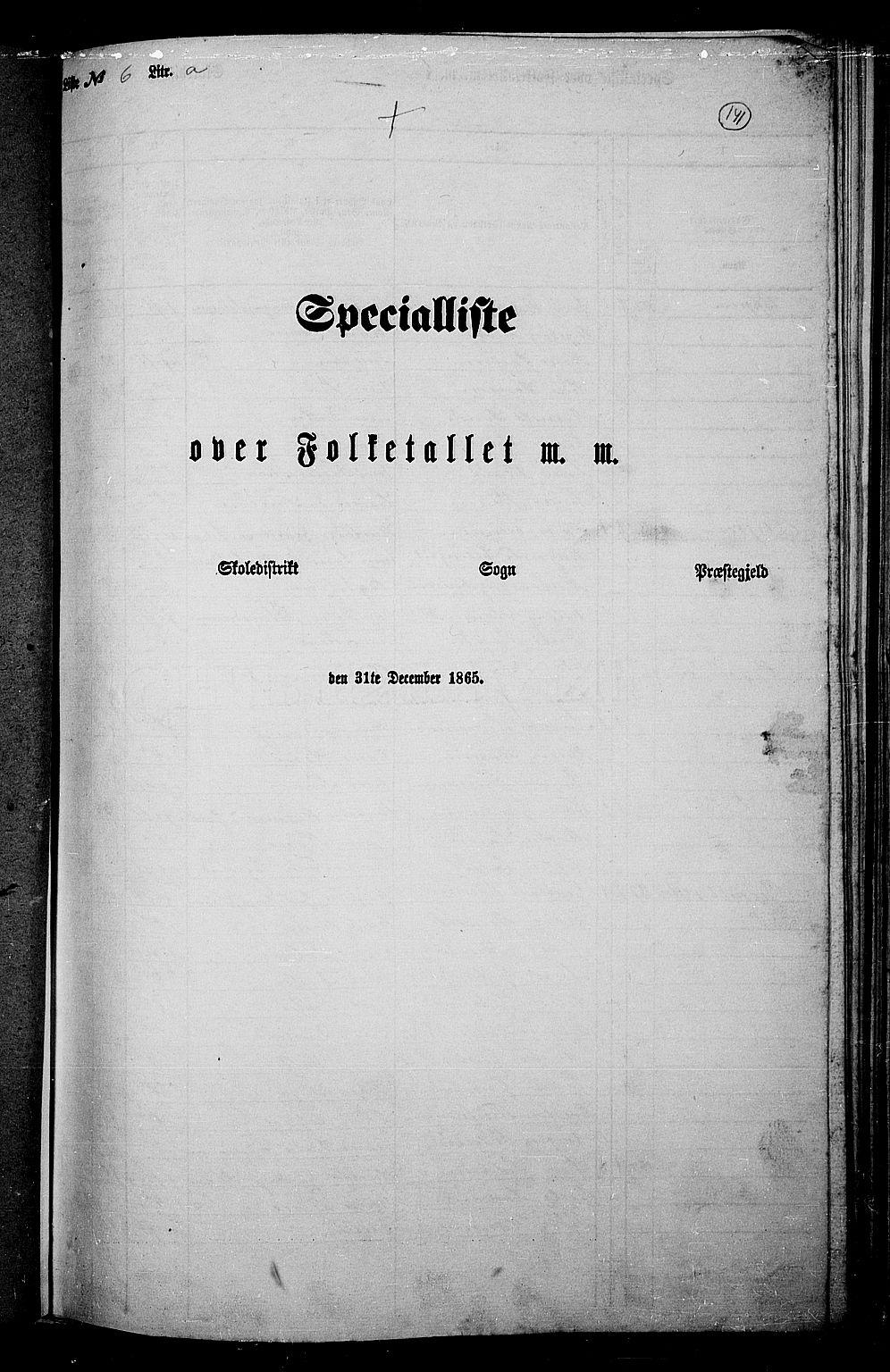 RA, Folketelling 1865 for 0532P Jevnaker prestegjeld, 1865, s. 130