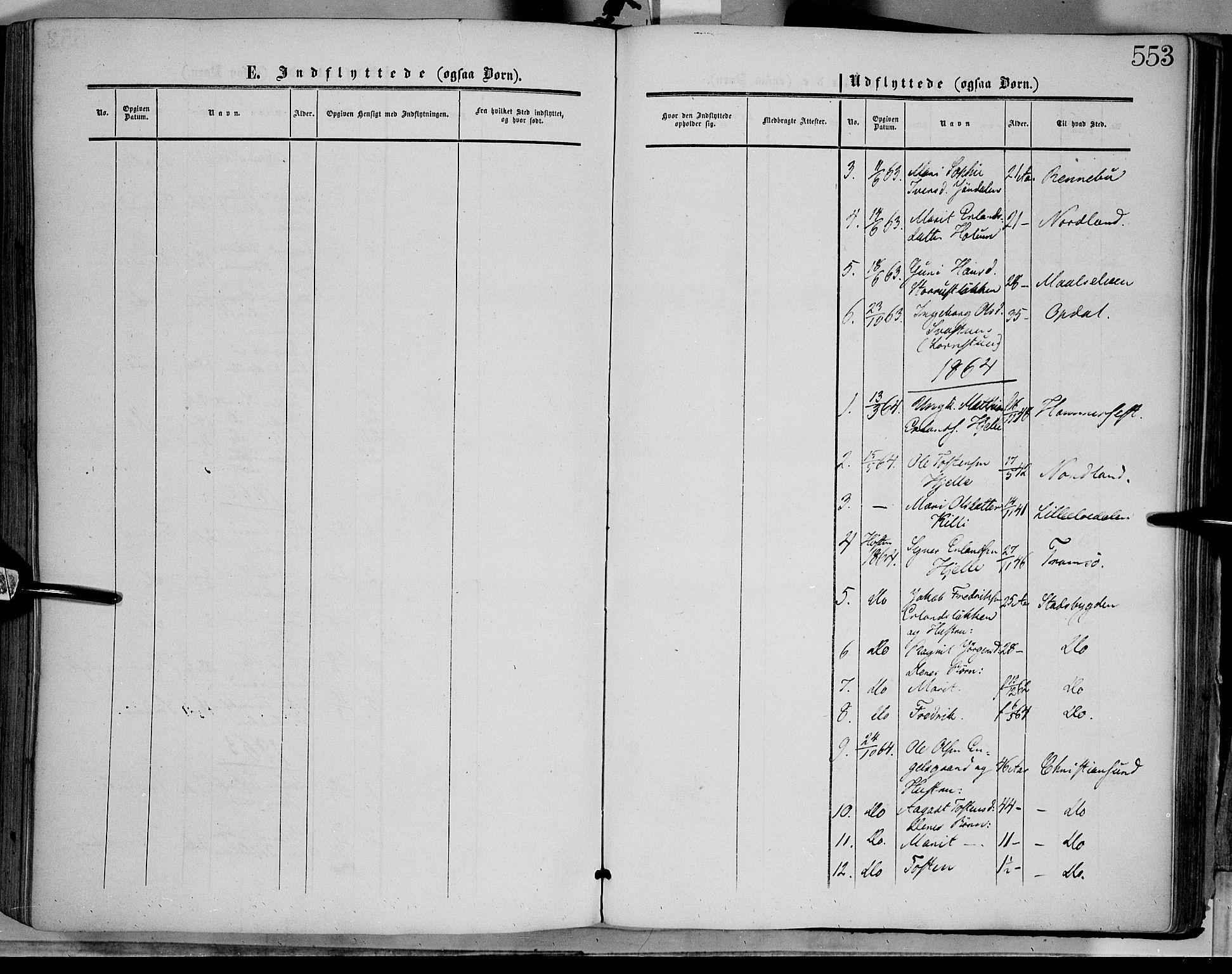 SAH, Dovre prestekontor, Ministerialbok nr. 1, 1854-1878, s. 553