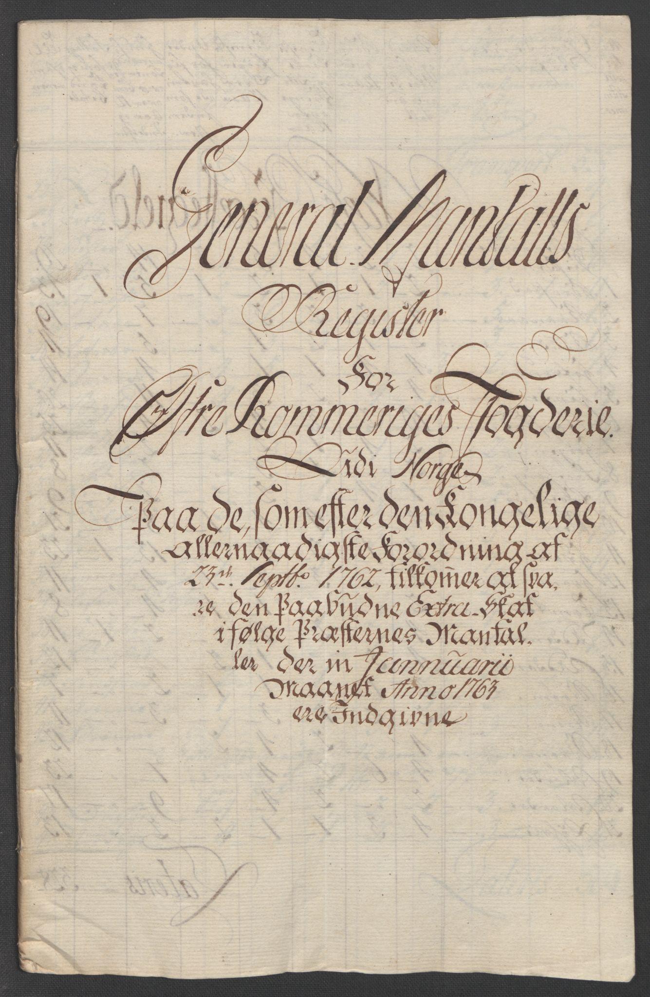 RA, Rentekammeret inntil 1814, Reviderte regnskaper, Fogderegnskap, R12/L0802: Ekstraskatten Øvre Romerike, 1762, s. 129