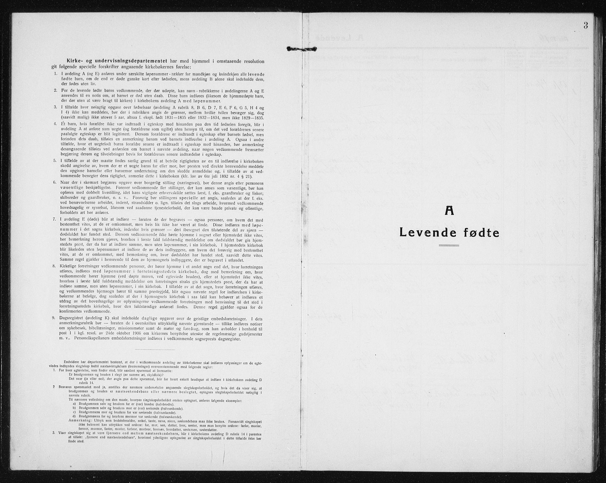 SAT, Ministerialprotokoller, klokkerbøker og fødselsregistre - Sør-Trøndelag, 635/L0554: Klokkerbok nr. 635C02, 1919-1942, s. 3