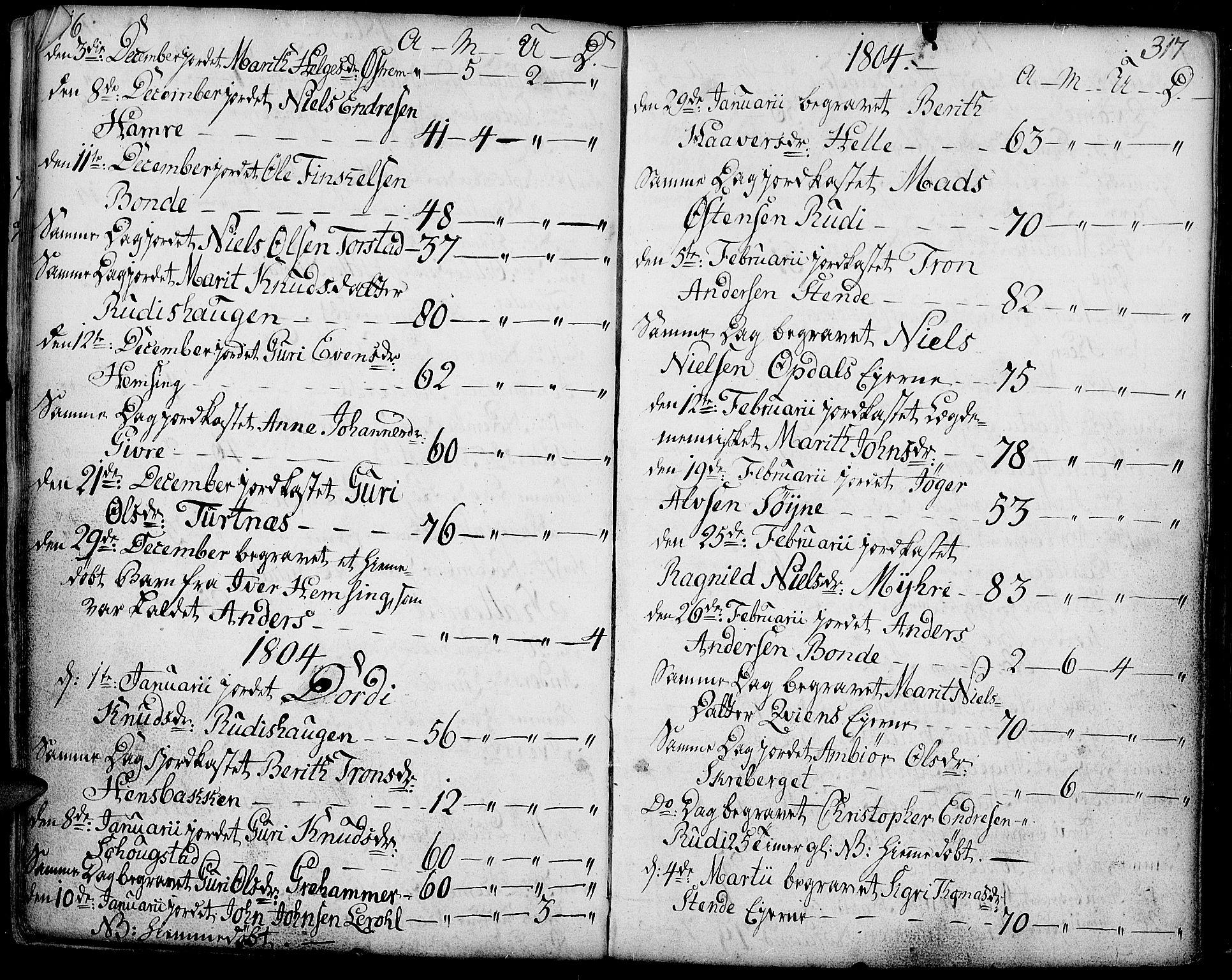 SAH, Vang prestekontor, Valdres, Ministerialbok nr. 2, 1796-1808, s. 316-317