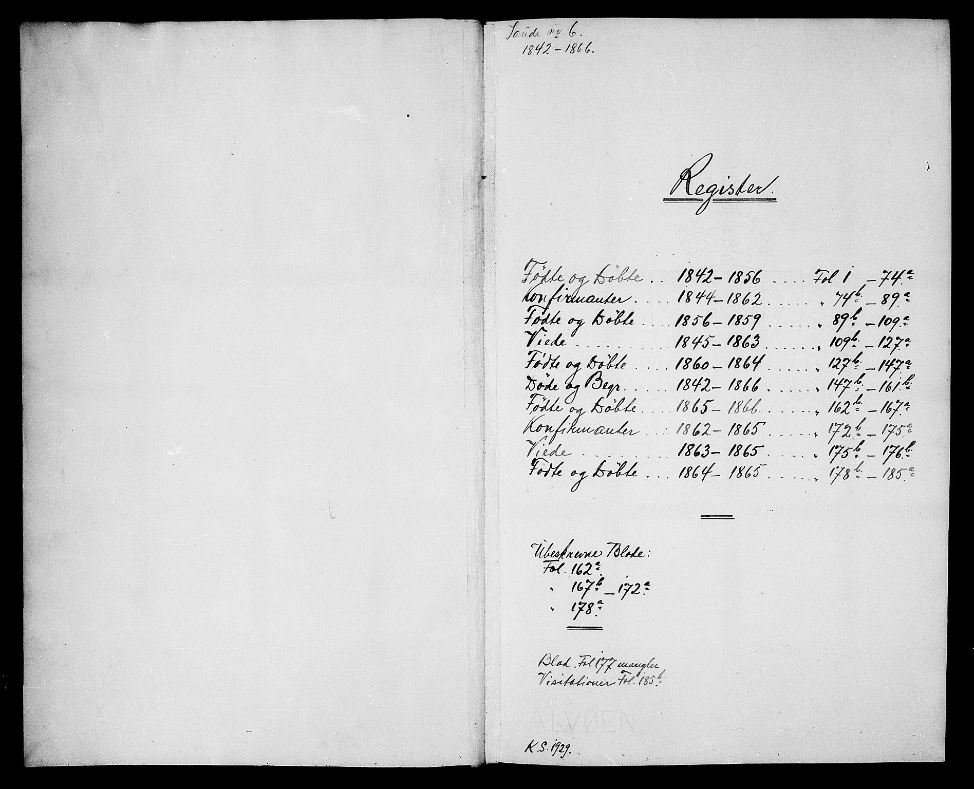 SAKO, Sauherad kirkebøker, G/Ga/L0002: Klokkerbok nr. I 2, 1842-1866