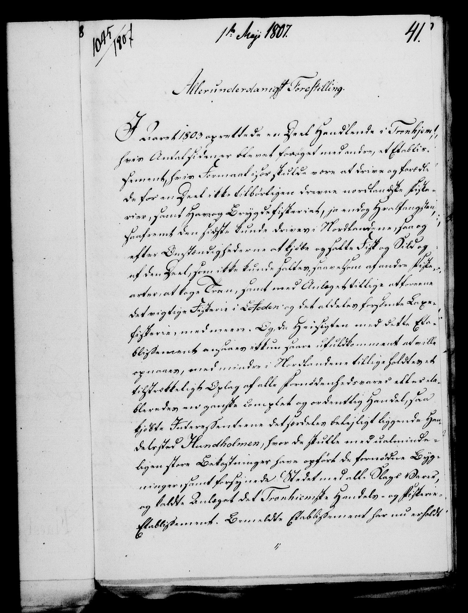 RA, Rentekammeret, Kammerkanselliet, G/Gf/Gfa/L0089: Norsk relasjons- og resolusjonsprotokoll (merket RK 52.89), 1807, s. 298
