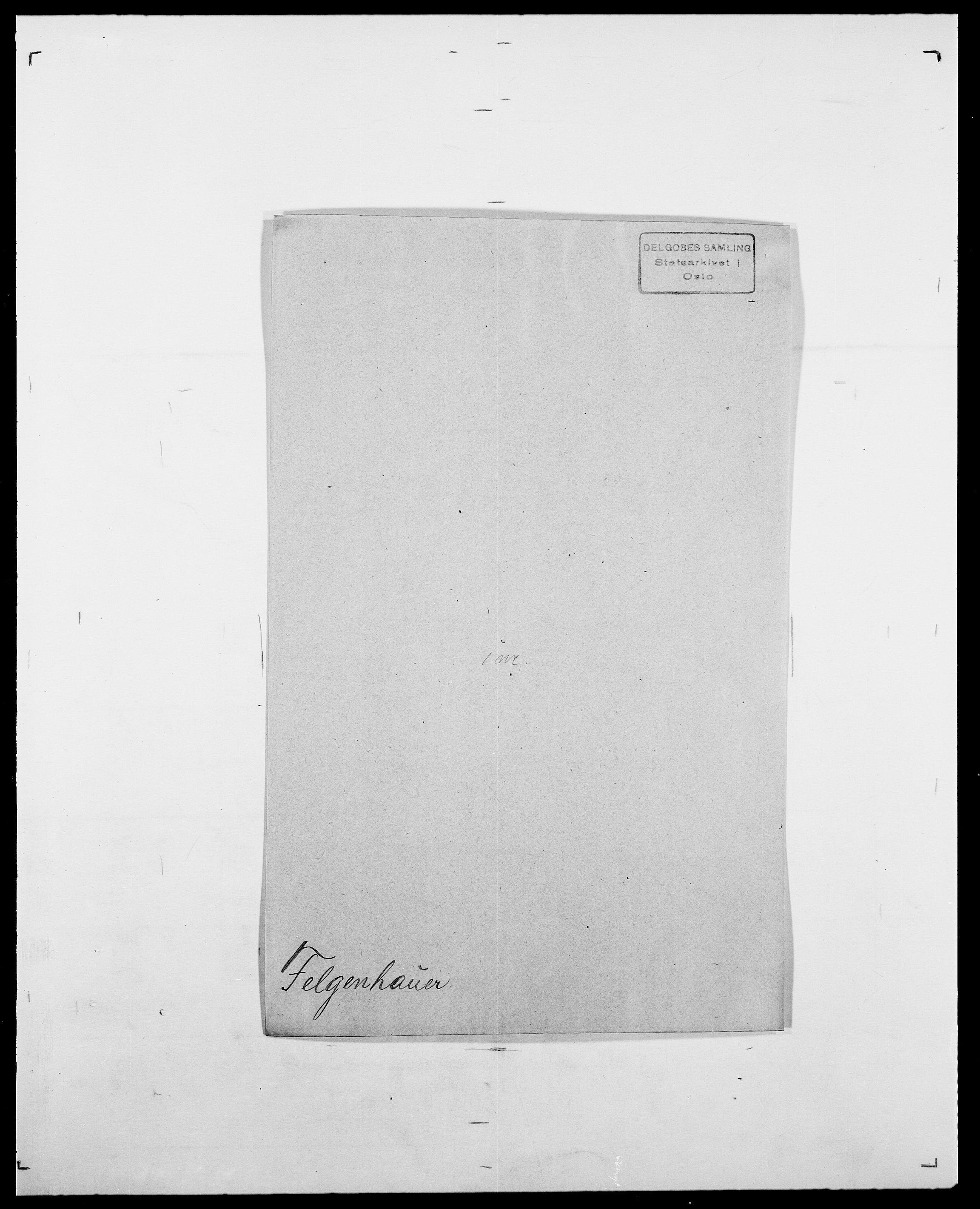SAO, Delgobe, Charles Antoine - samling, D/Da/L0011: Fahlander - Flood, Flod, s. 344