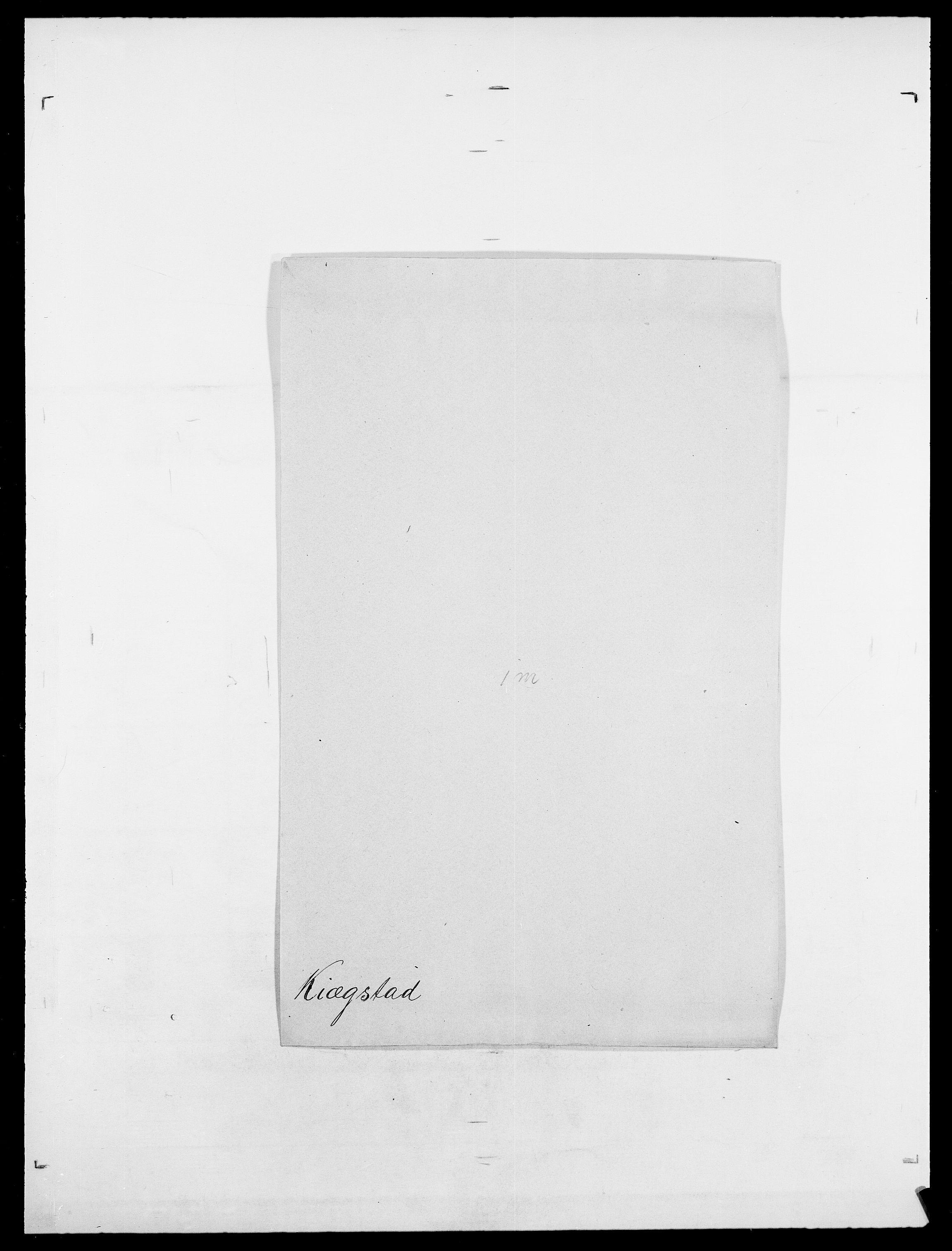 SAO, Delgobe, Charles Antoine - samling, D/Da/L0020: Irgens - Kjøsterud, s. 679