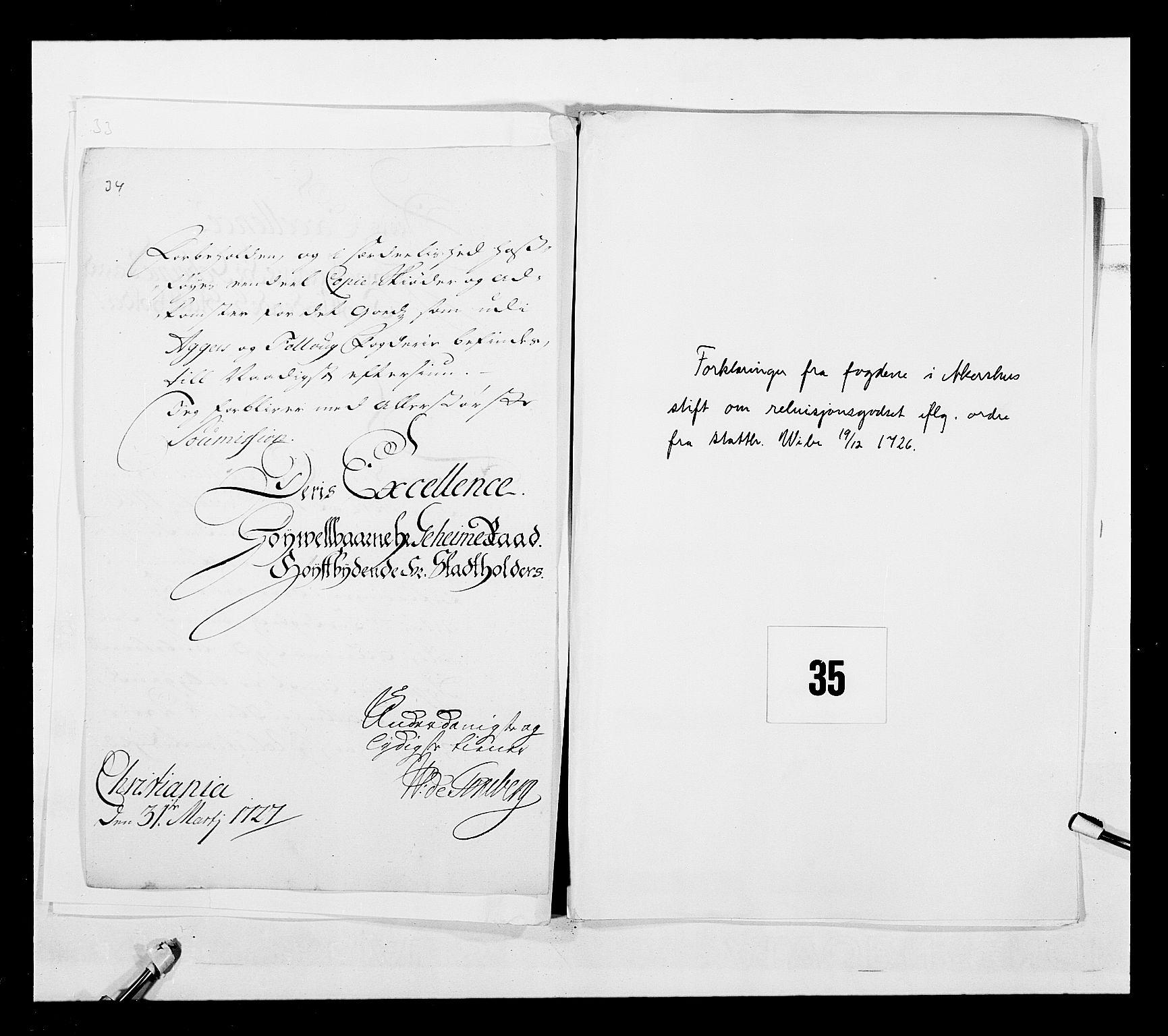 RA, Stattholderembetet 1572-1771, Ek/L0043: Jordebøker o.a. 1720-1728 vedkommende krongodset:, 1724-1728, s. 97