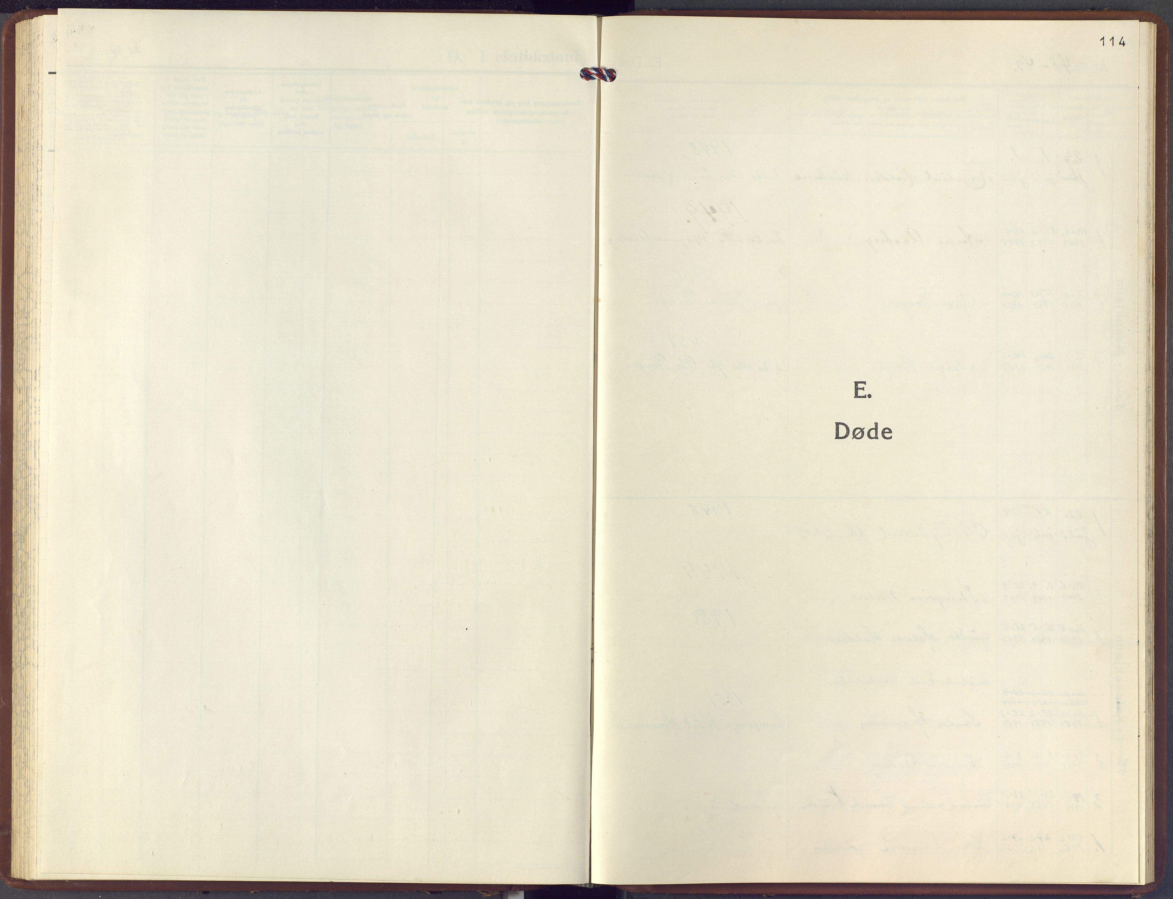 SAKO, Hol kirkebøker, F/Fb/L0001: Ministerialbok nr. II 1, 1948-1978, s. 114