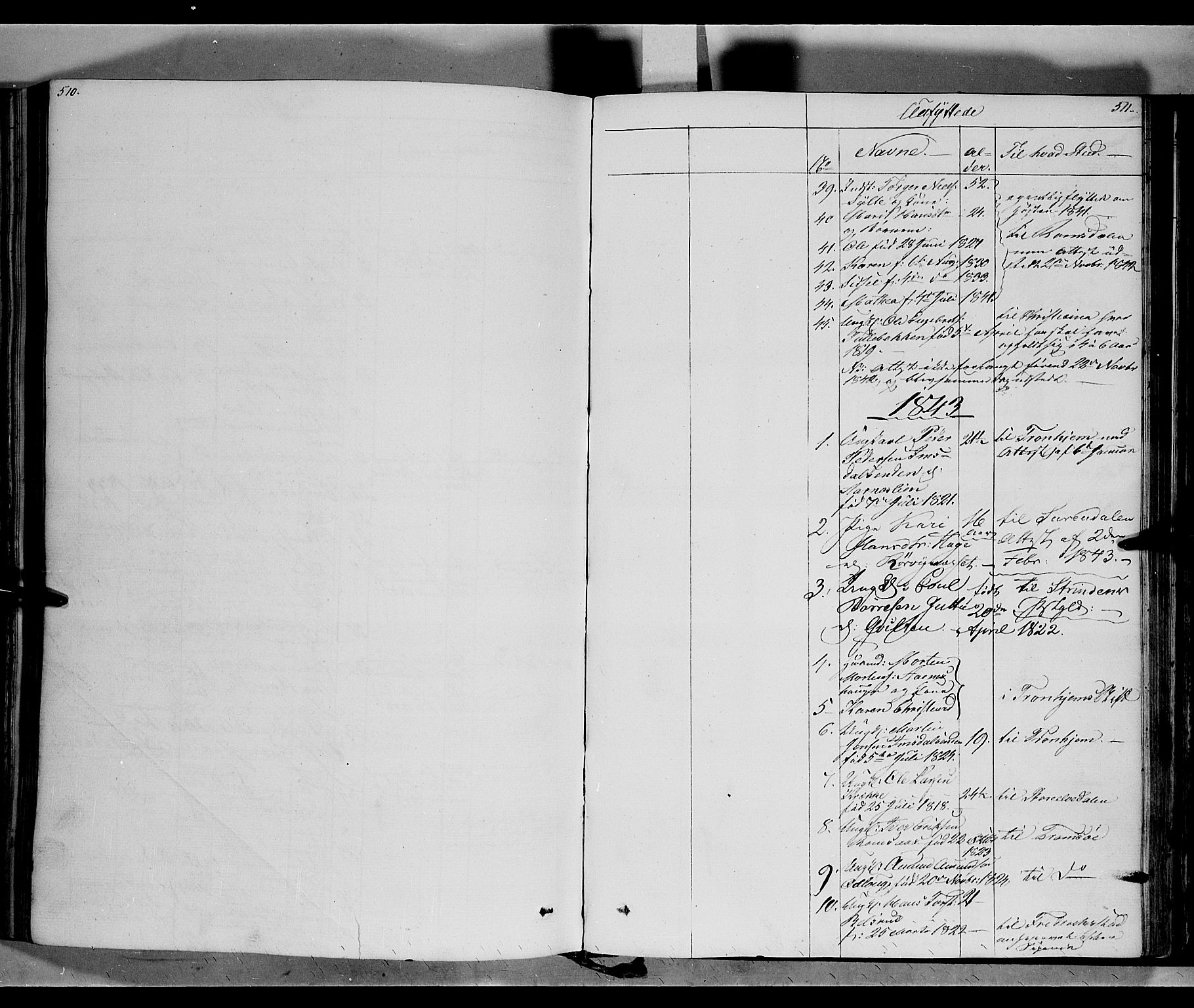 SAH, Ringebu prestekontor, Ministerialbok nr. 5, 1839-1848, s. 510-511