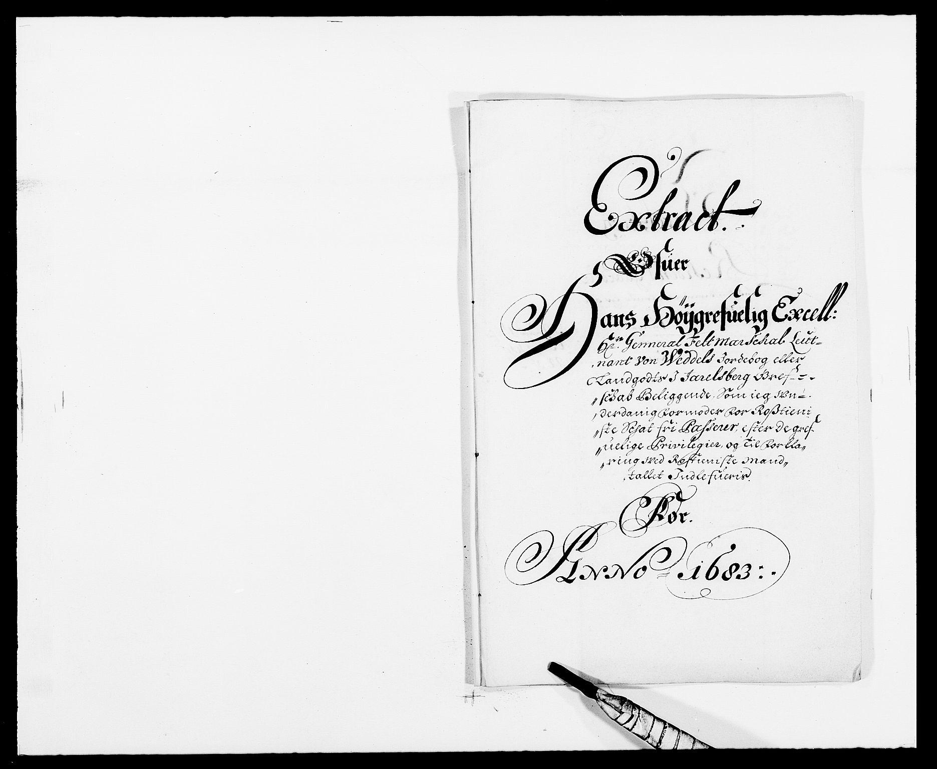 RA, Rentekammeret inntil 1814, Reviderte regnskaper, Fogderegnskap, R32/L1853: Fogderegnskap Jarlsberg grevskap, 1683, s. 115